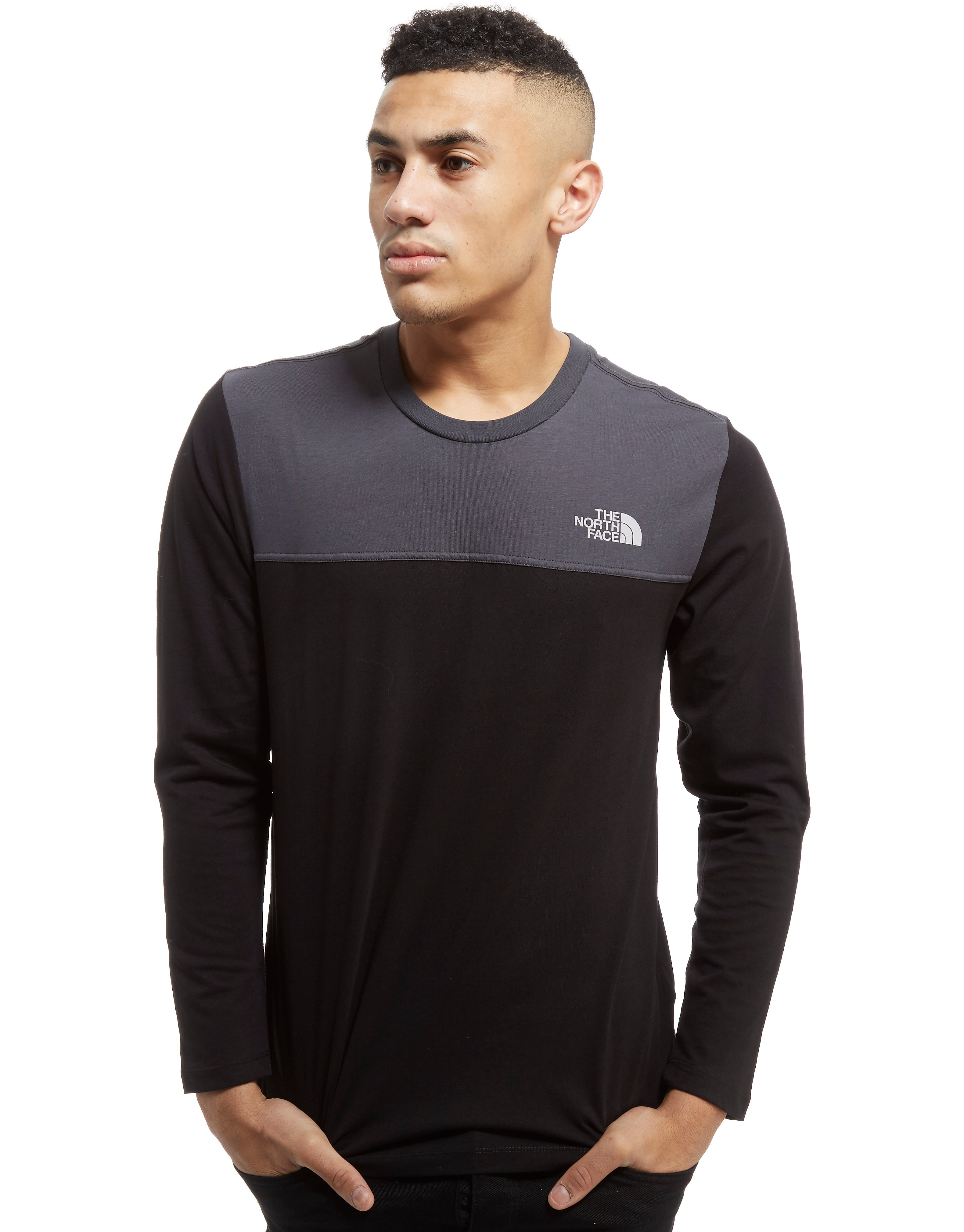 The North Face Colourblock Long Sleeve T-Shirt