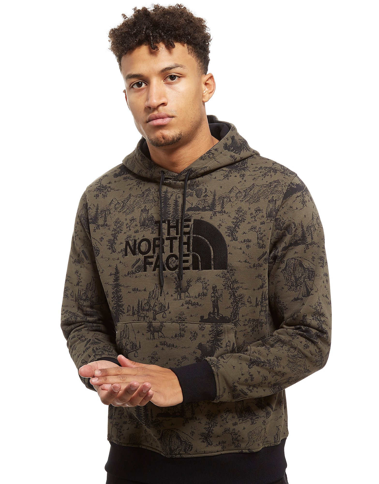 The North Face Drew Peak All Over Print Hoodie