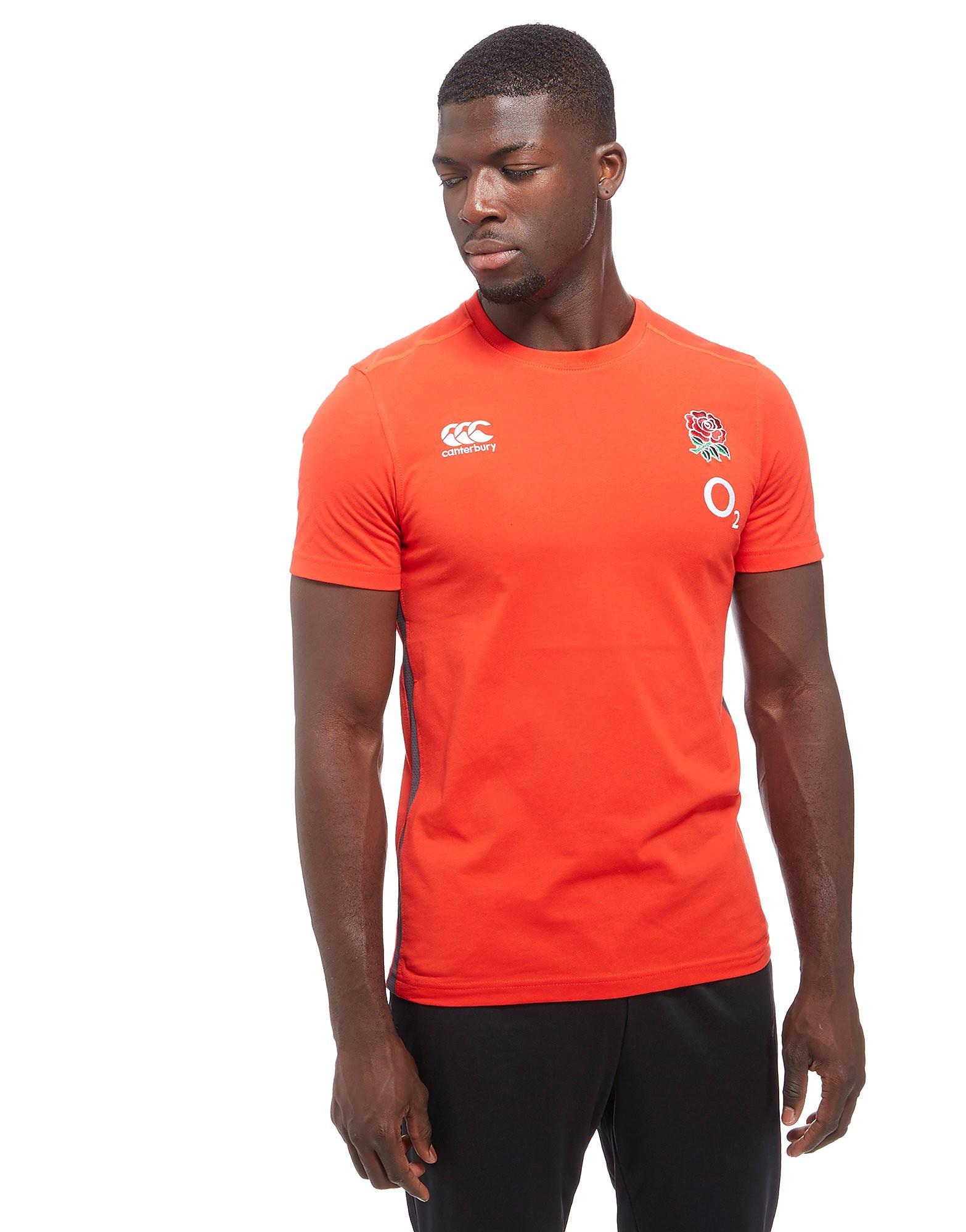 Canterbury England RFU Cotton T-Shirt PRE ORDER