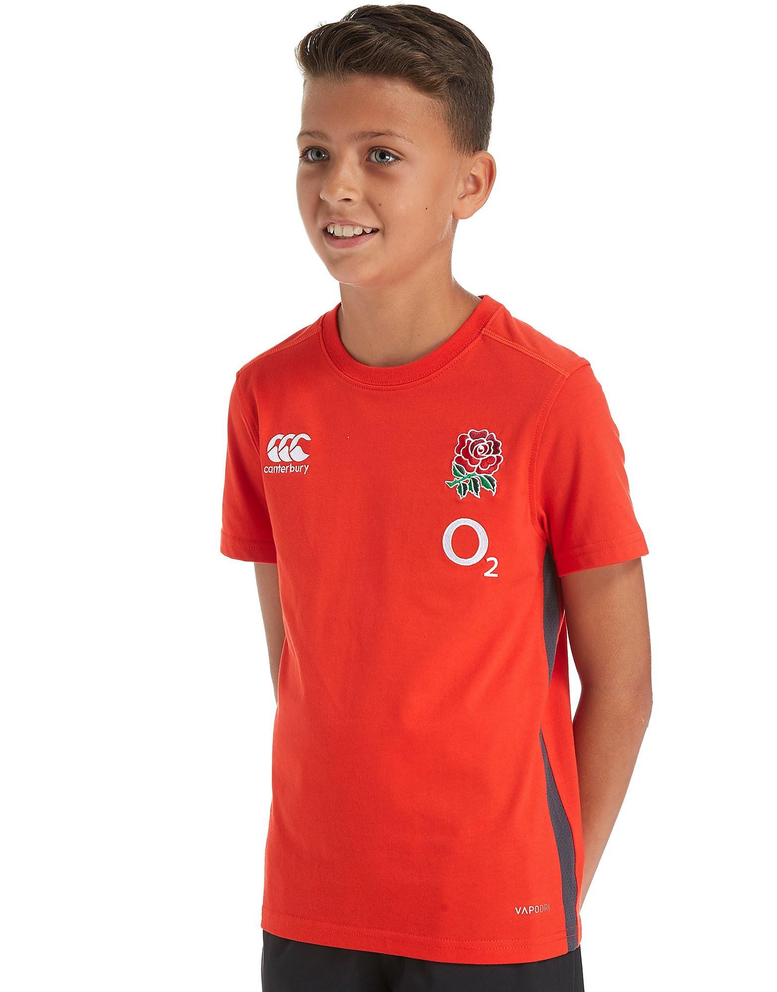 Canterbury England RFU Cotton Shirt Junior PRE ORDER
