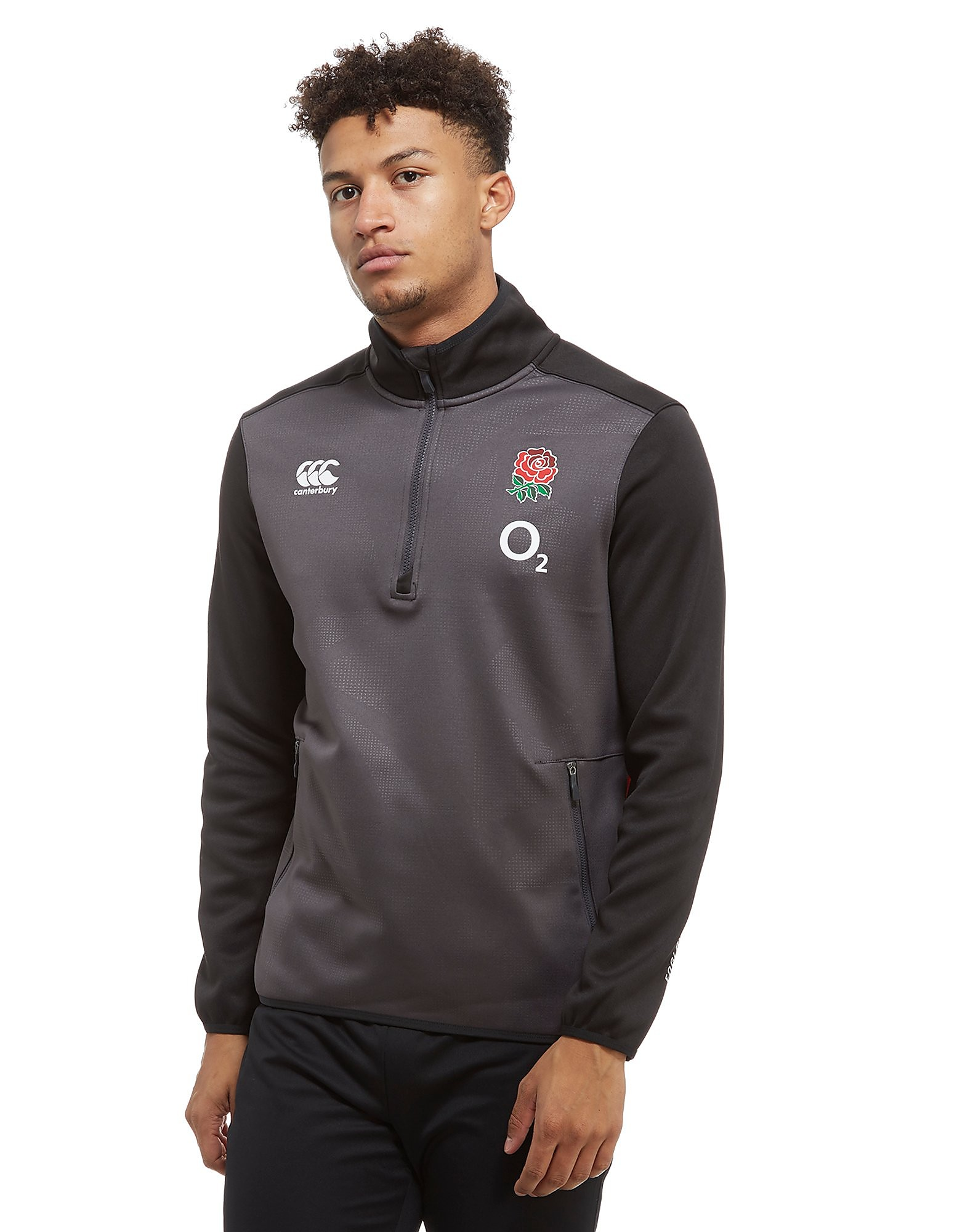 Canterbury England RFU ThermoReg 1/2 Zip Top