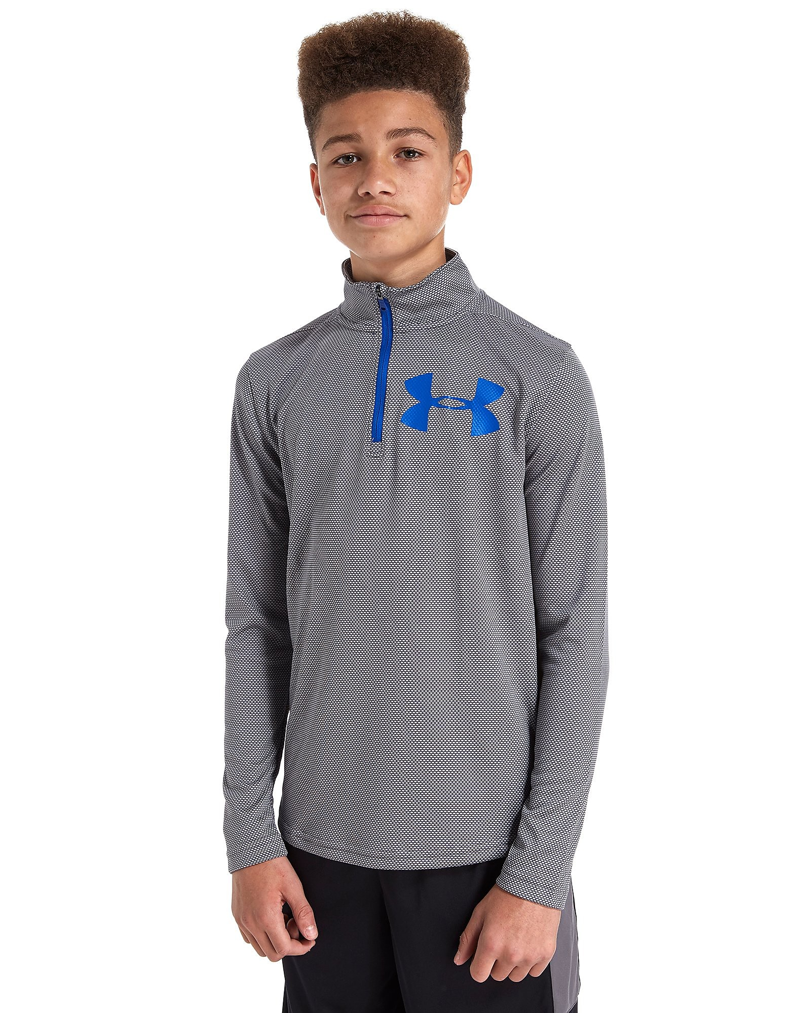 Under Armour Textured Tech ¼ Zip Top Junior
