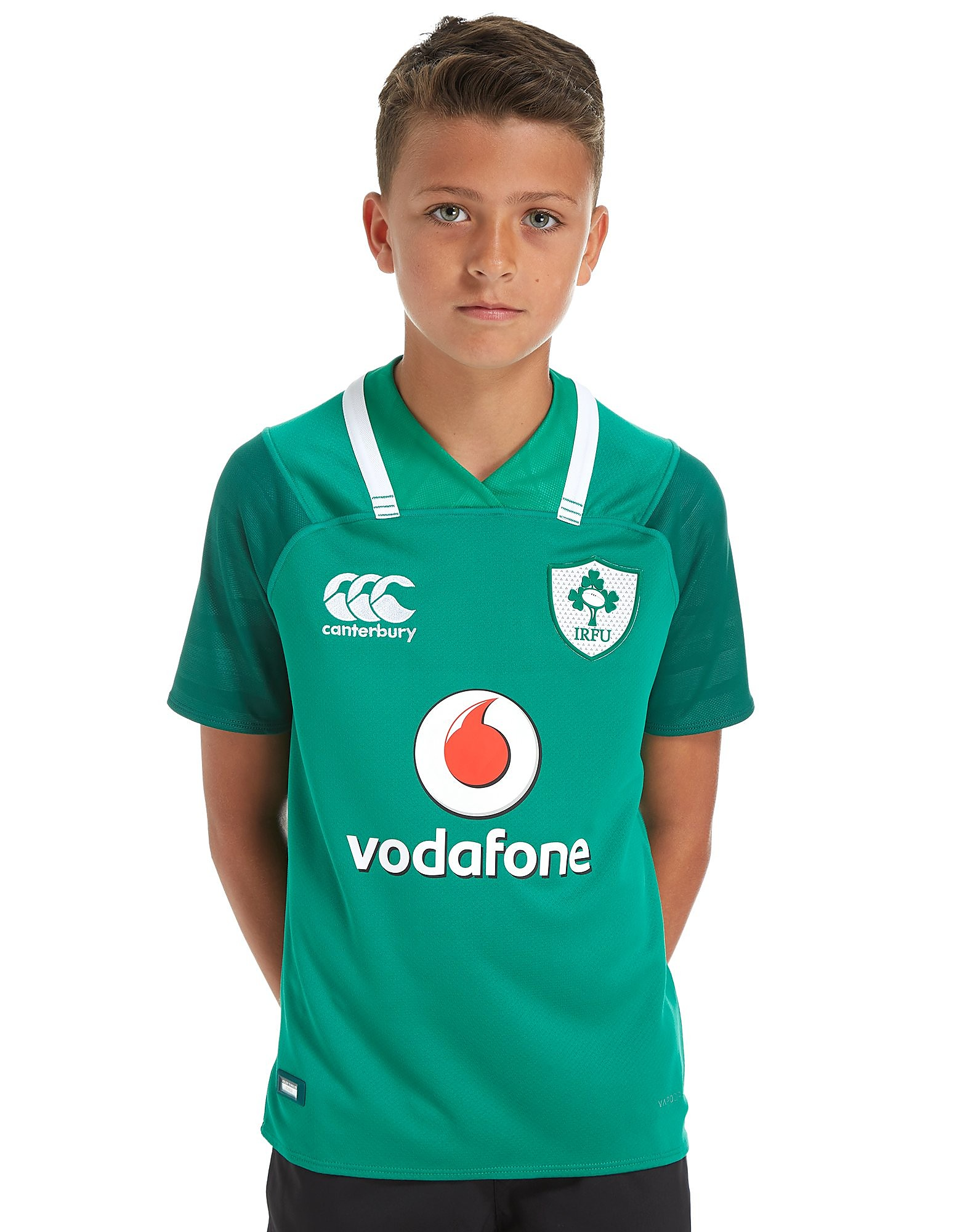 Canterbury Ireland RFU 2017 Home Player Shirt Junior