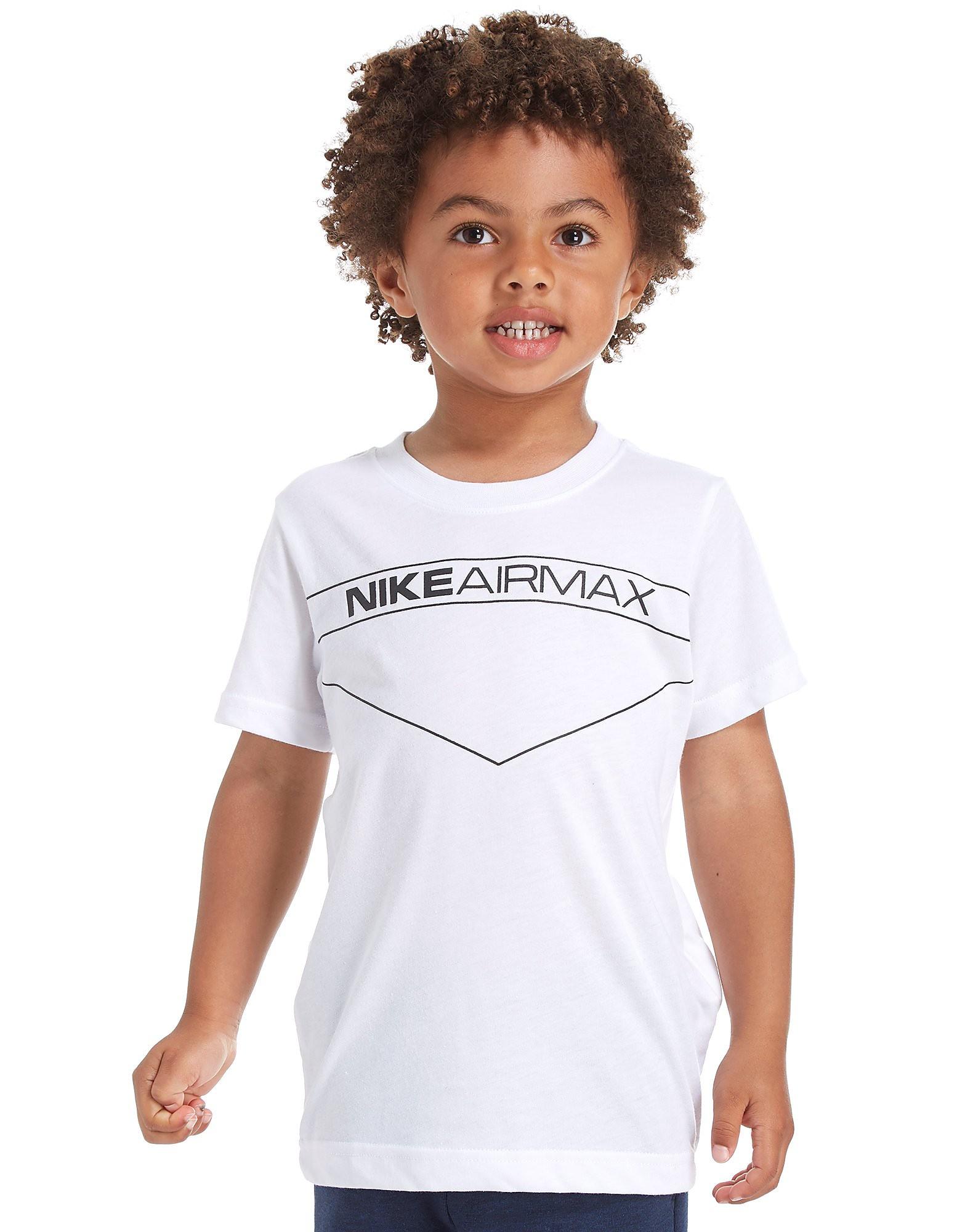Nike Air Max T-Shirt Children  - Wit - Kind