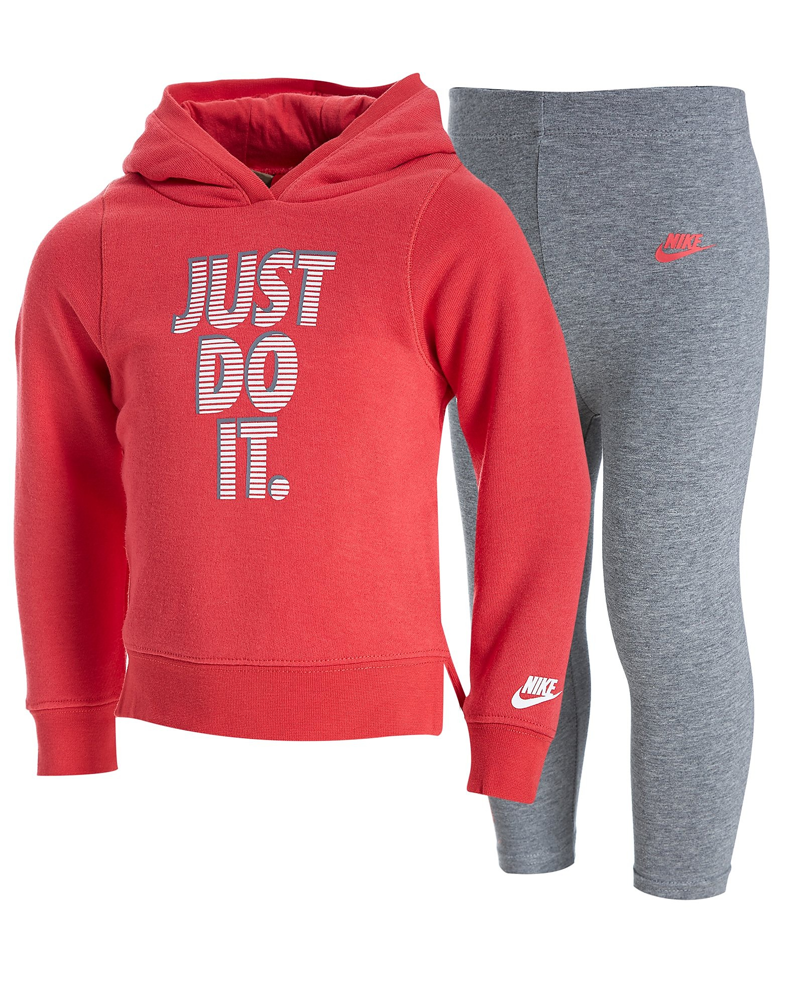 Nike Girls Just Do It Felpa/Leggings Completo Bebè
