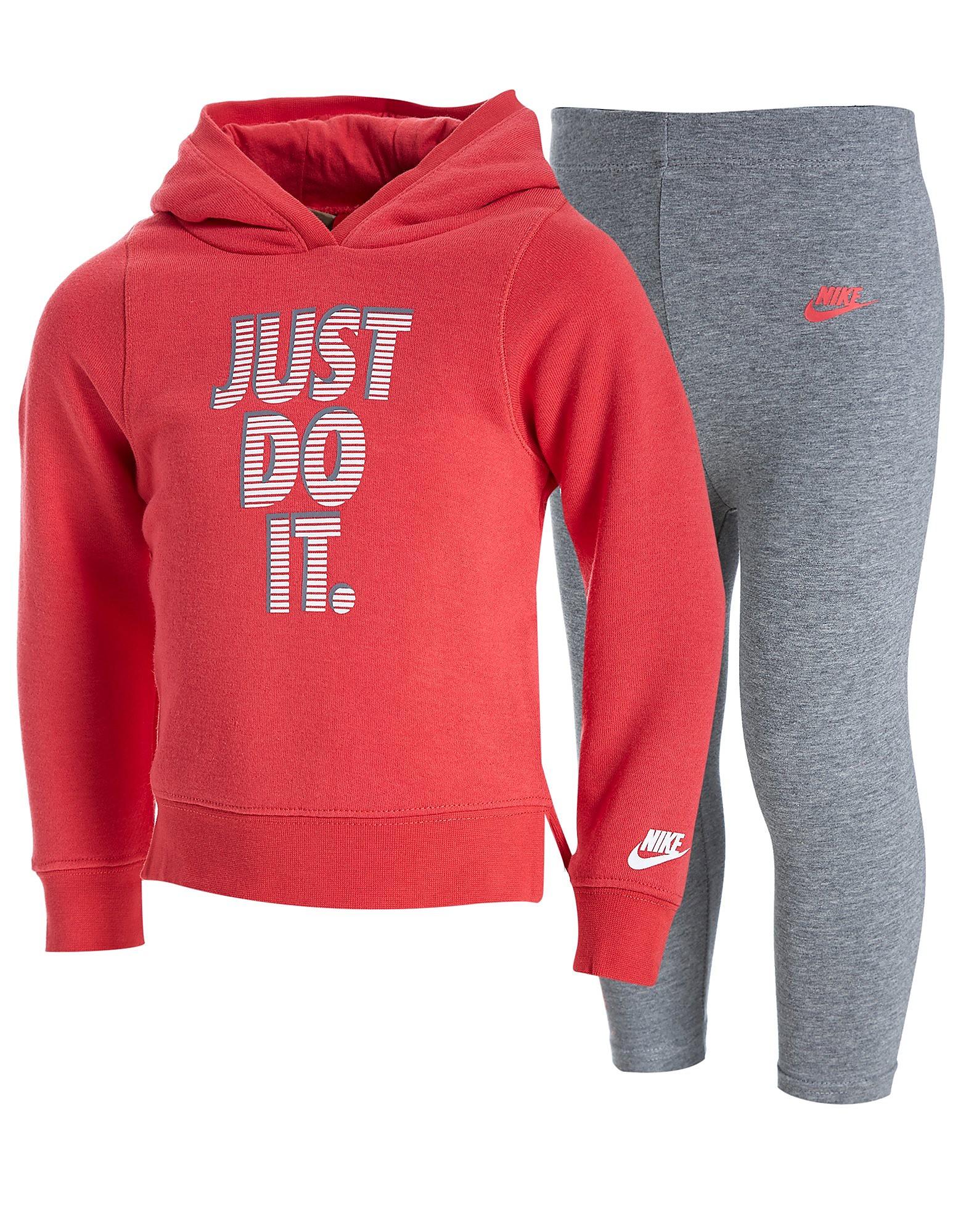 Nike conjunto de sudadera y leggings Just Do It para bebés