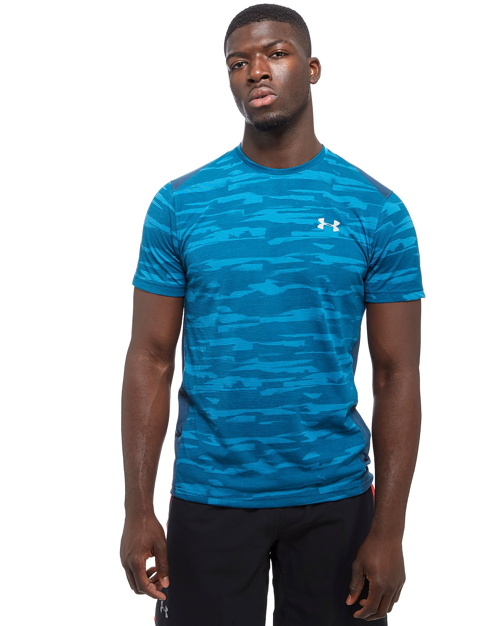 Under Armour TB Run Mesh T-Shirt Heren