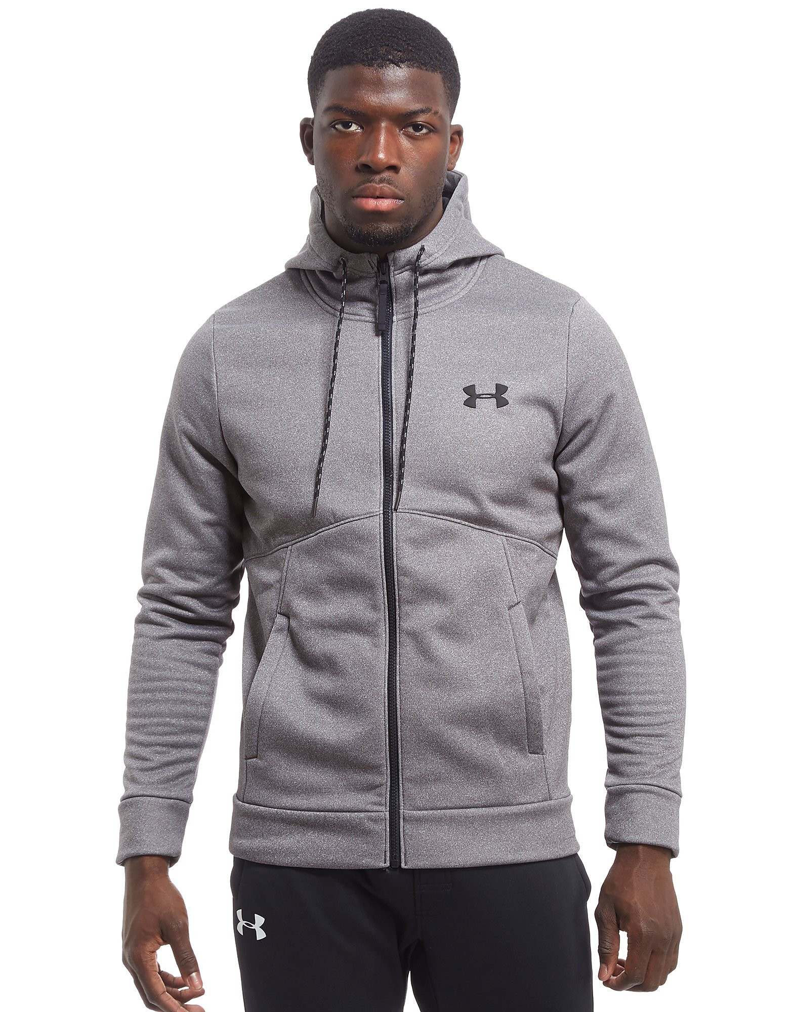 Under Armour Icon Full Zip Felpa con Cappuccio
