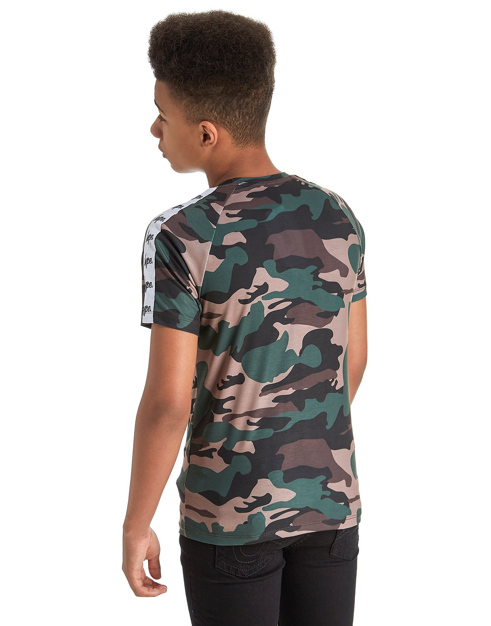 Hype Tape Camo T-Shirt Junior