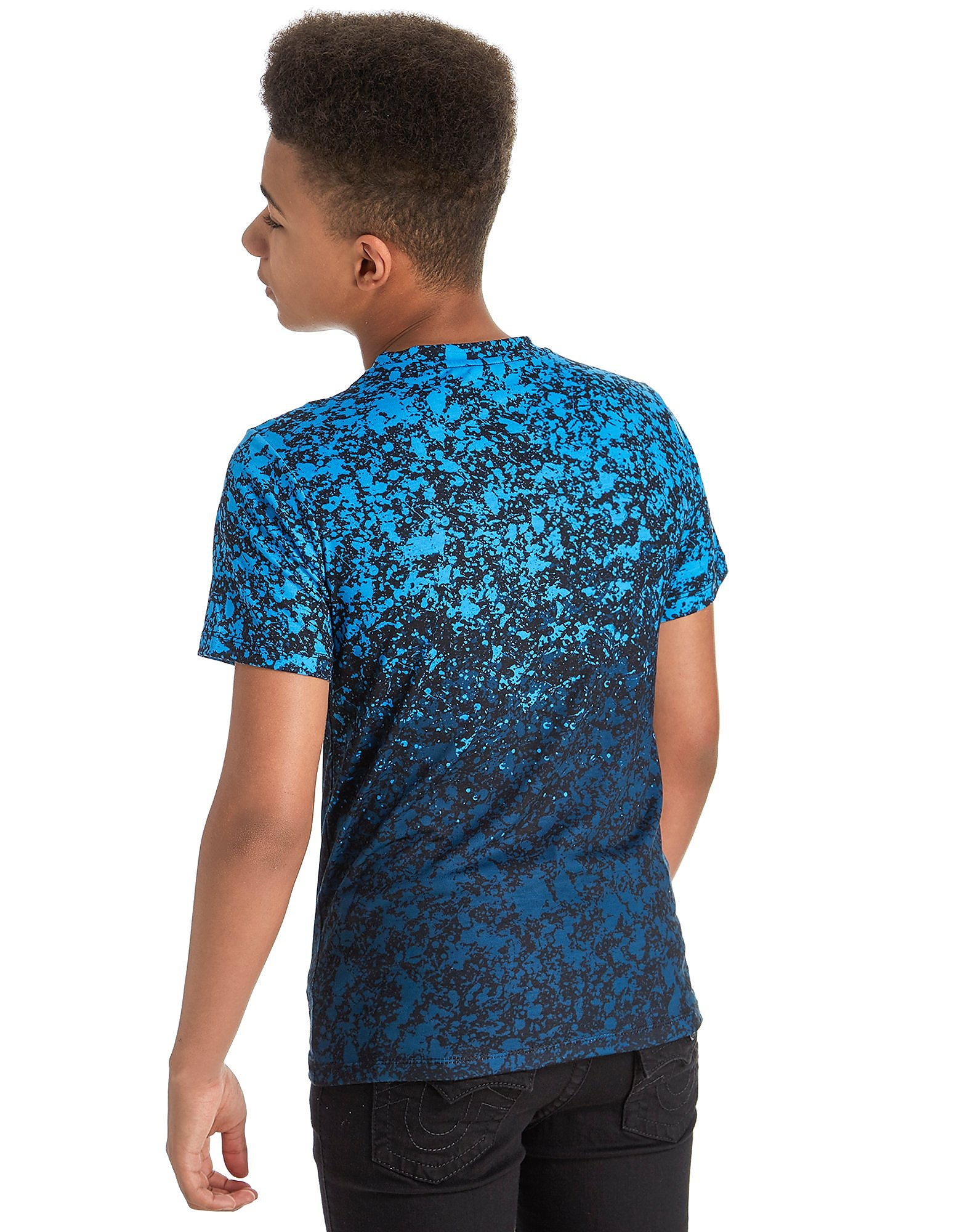 Hype Blue Splats T-Shirt Junior