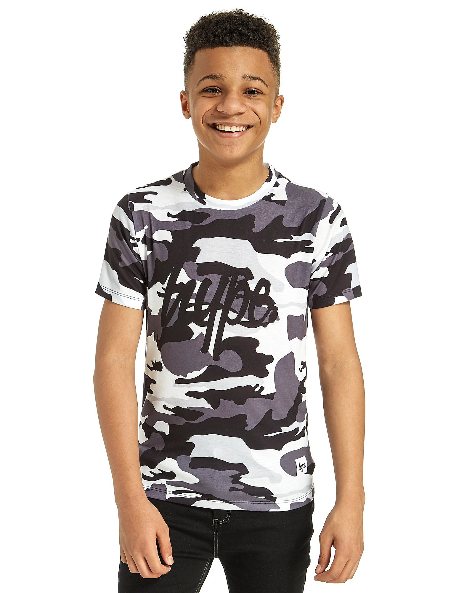 Hype Mono Camo T-Shirt Junior