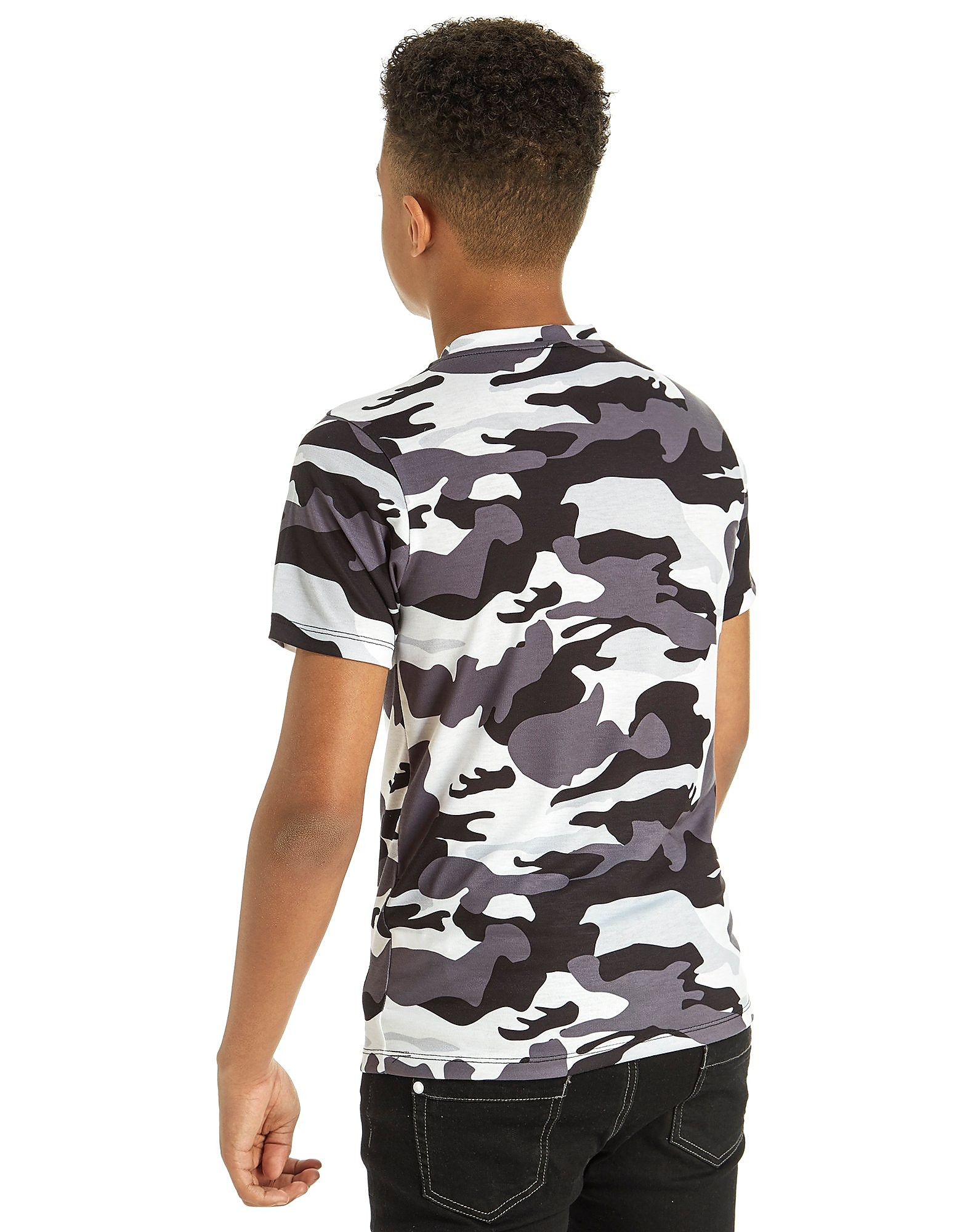 Hype Mono Camo T-Shirt Junior