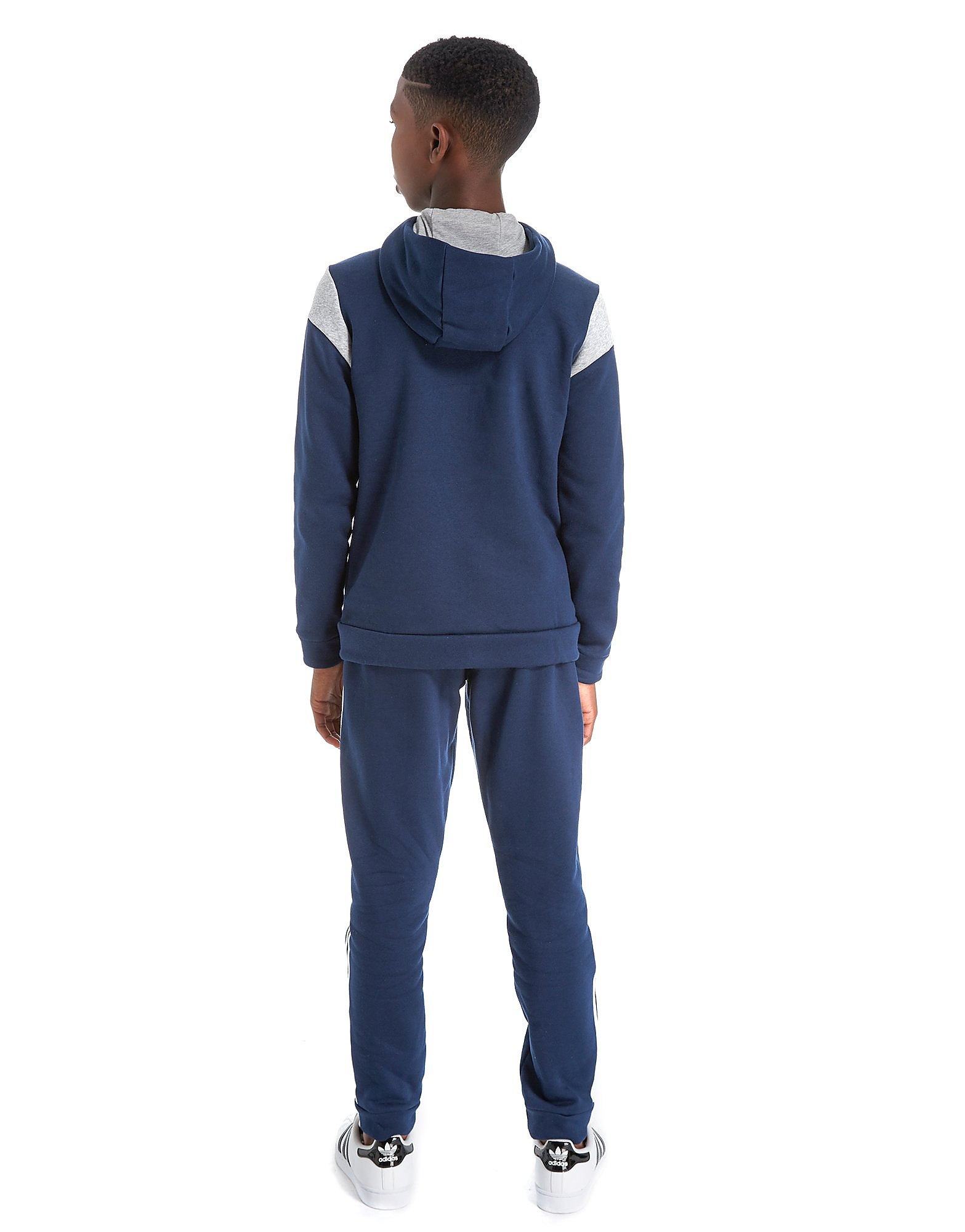 adidas Fleece Panel Tracksuit Junior