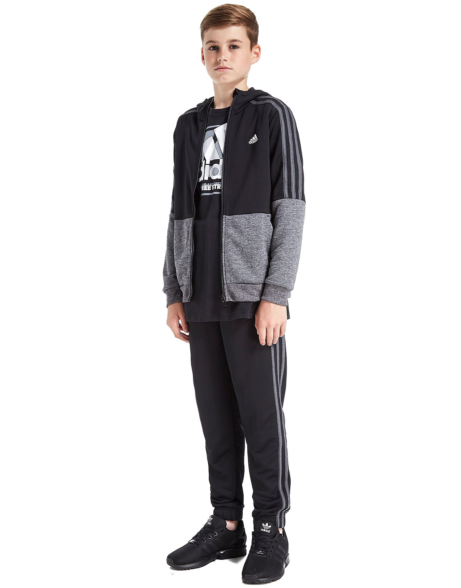 adidas Poly Knit Tracksuit Junior