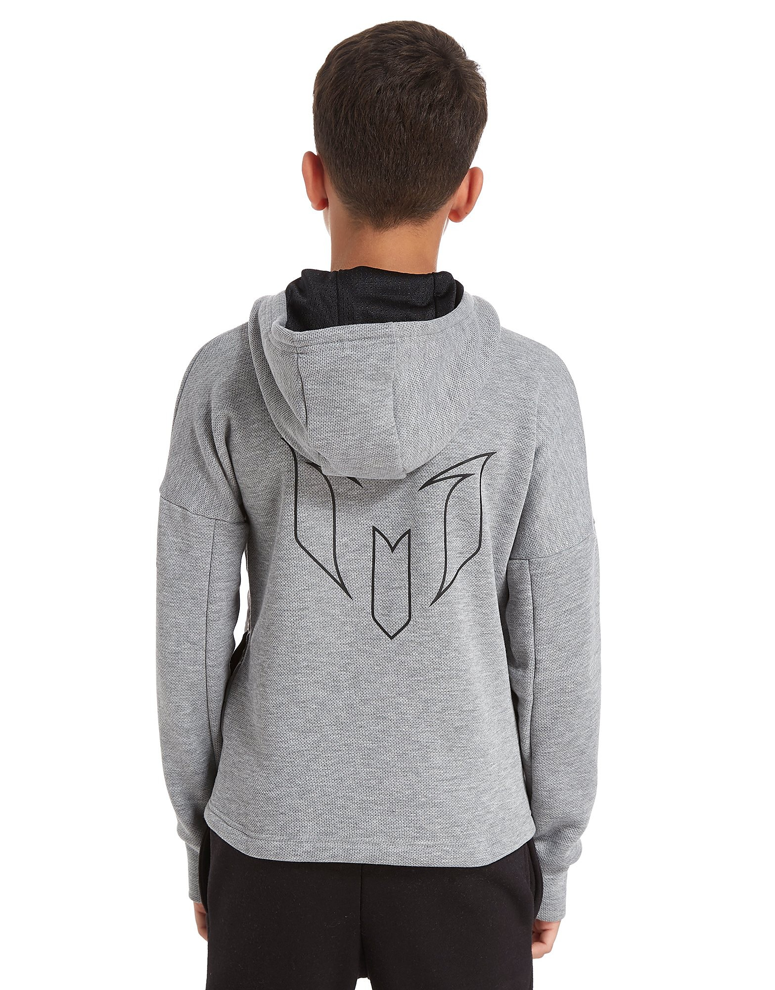 adidas Messi ¼ Zip Felpa con Cappuccio Junior