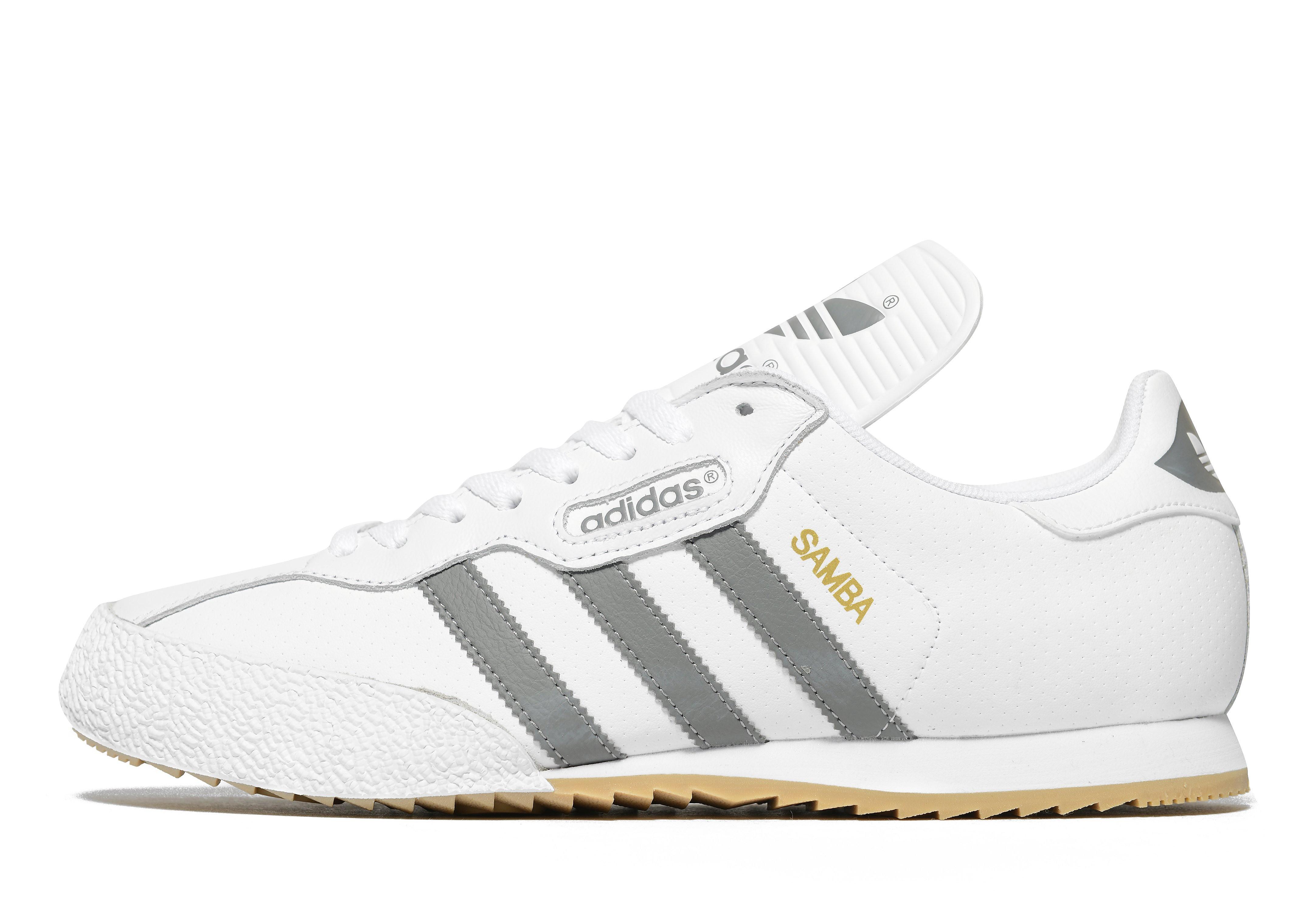 adidas Originals Samba Super weiß-grau