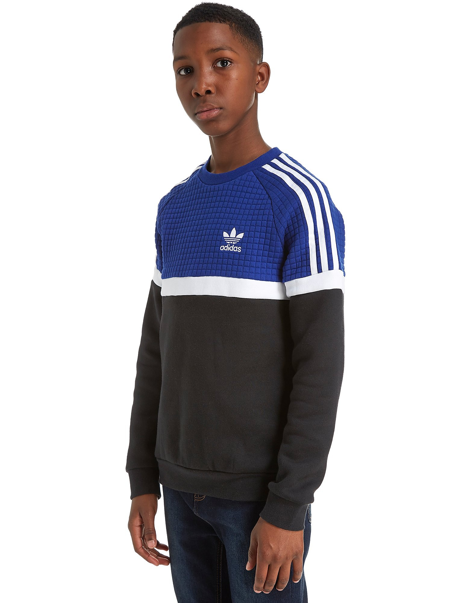 adidas Originals Itasca Crew Neck Sweatshirt Junior