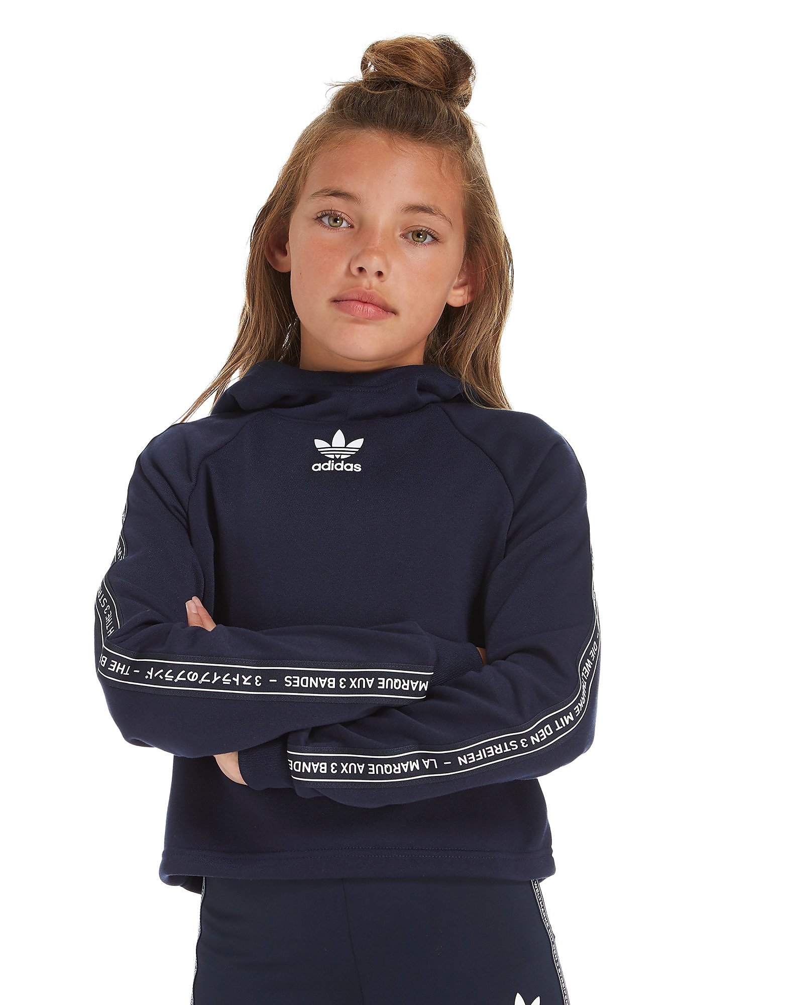 adidas Originals Girls' NMD Cropped Hoodie Junior