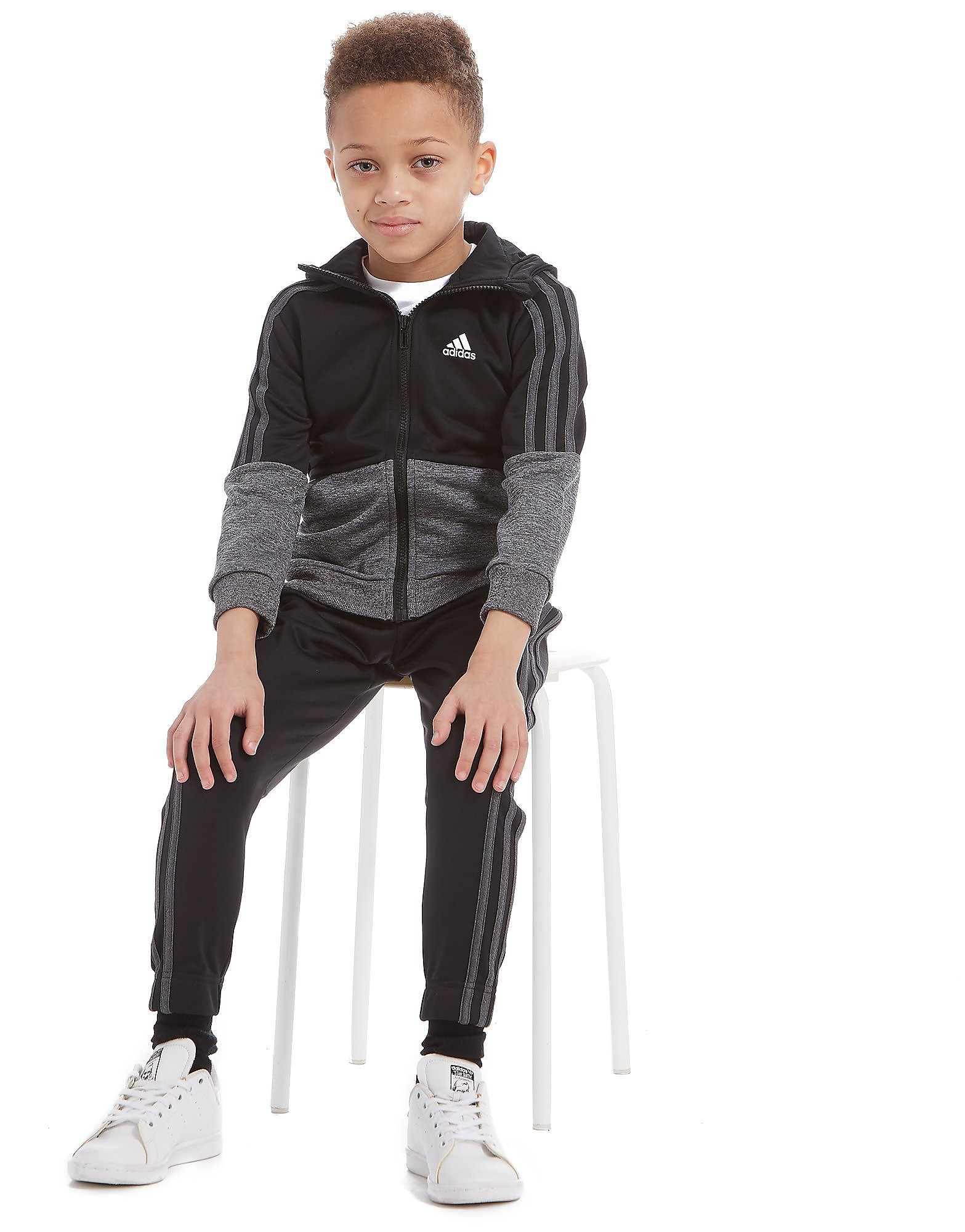 adidas Poly Marl Suit Children