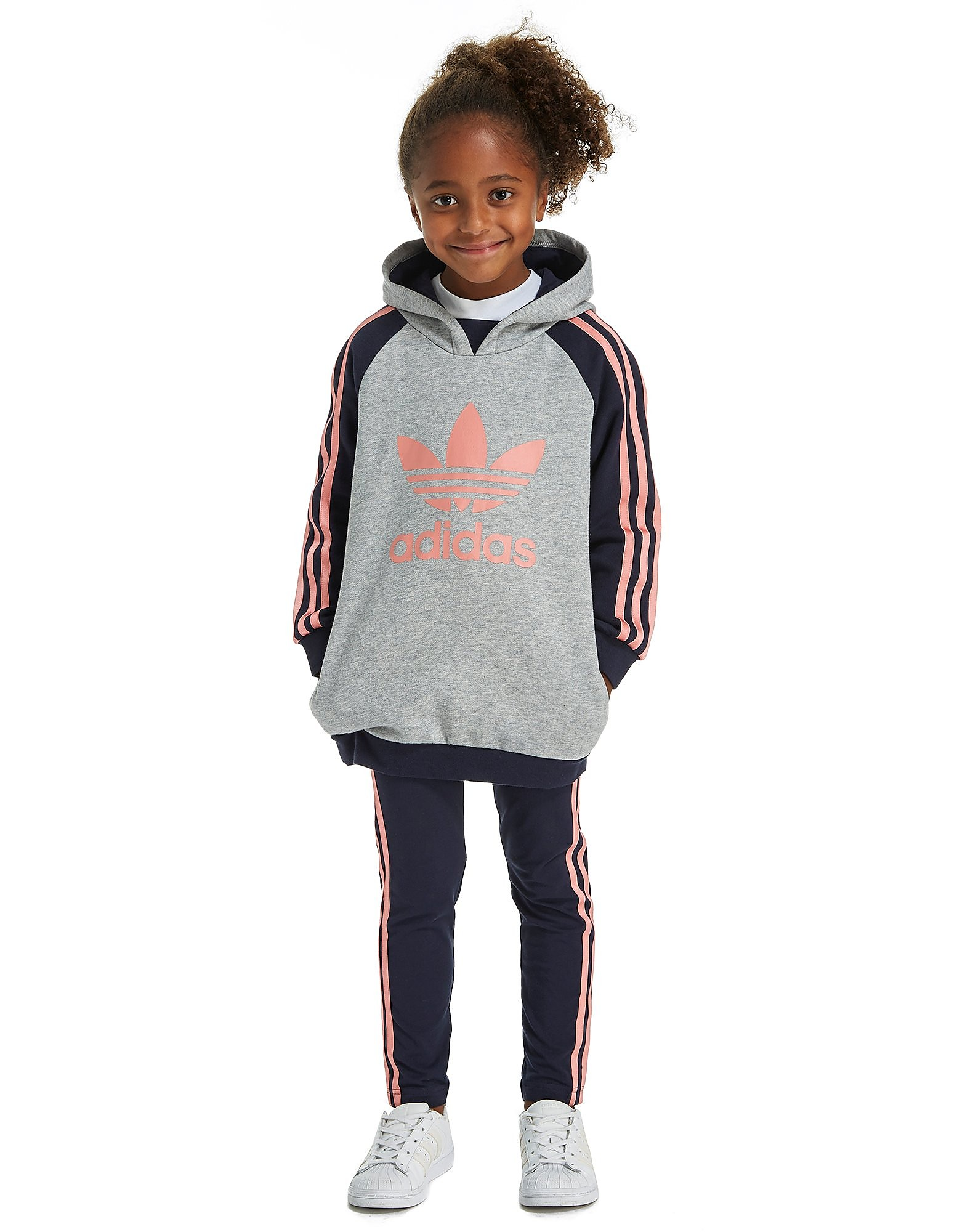 adidas Originals Girls' Hoodie & Legging Set Children