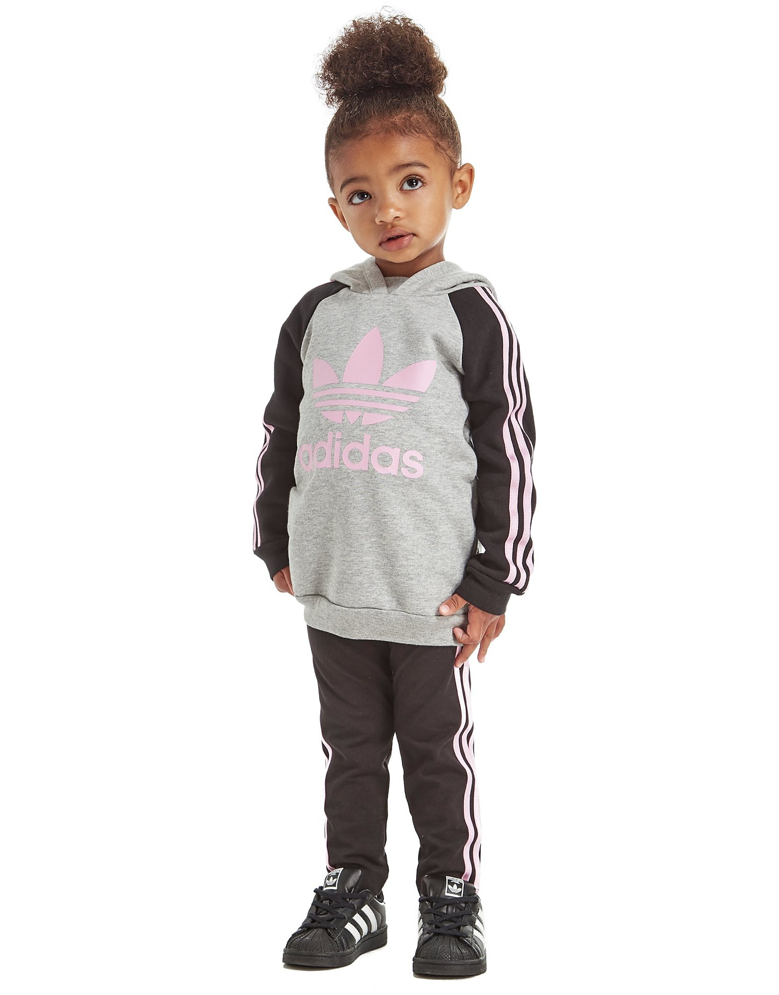 adidas Originals Girls' Hoodie/Leggings Set Infant