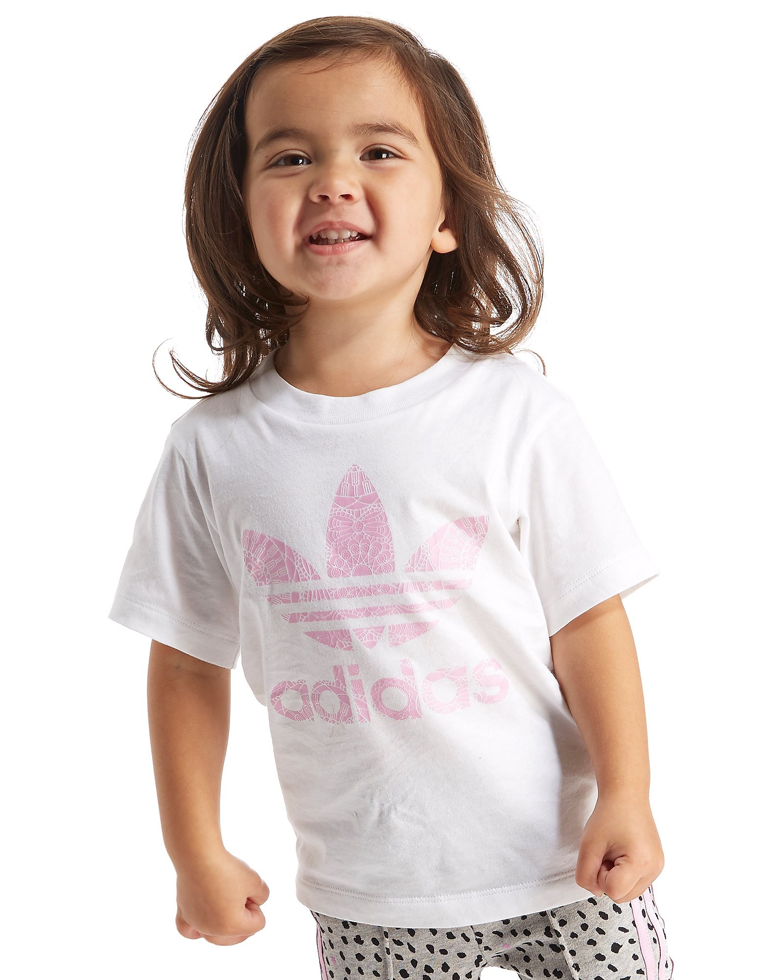 adidas Originals Girls' Farm Infill T-Shirt Infant
