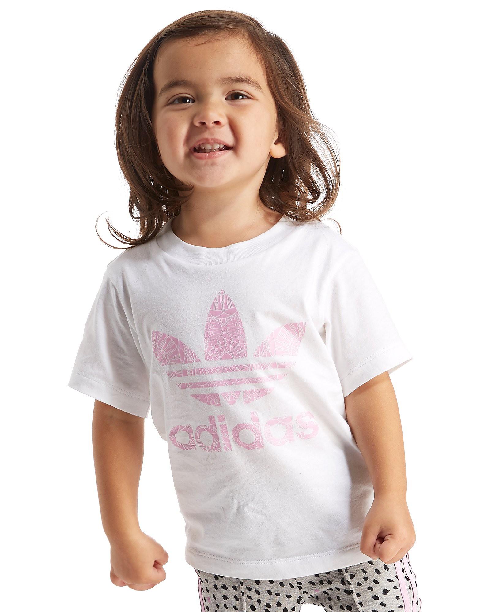 adidas Originals Girls' Farm Infill T-Shirt Infant