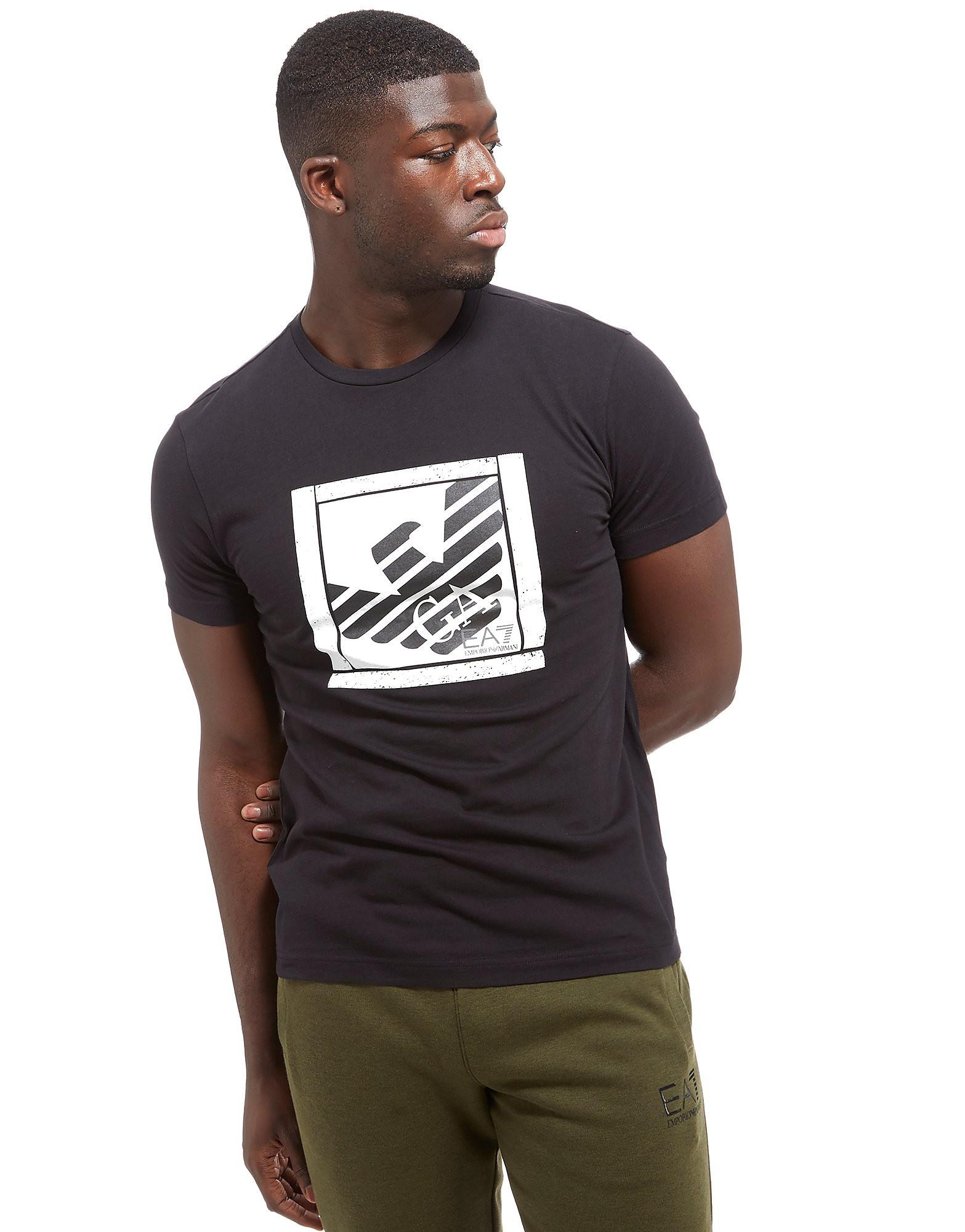 Emporio Armani EA7 Eagle Box Logo Short Sleeve T-Shirt