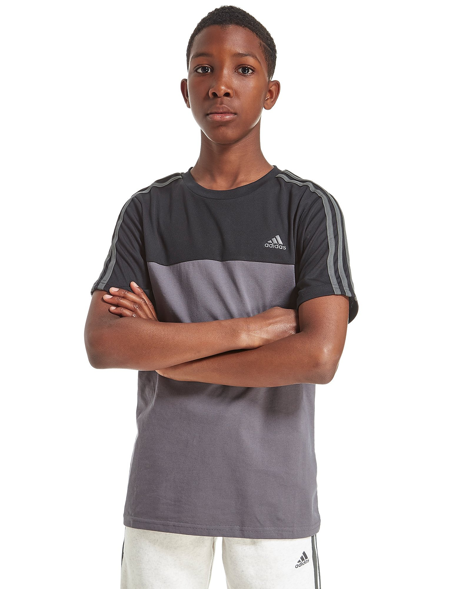 adidas Hybrid Colour Block T-Shirt Junior