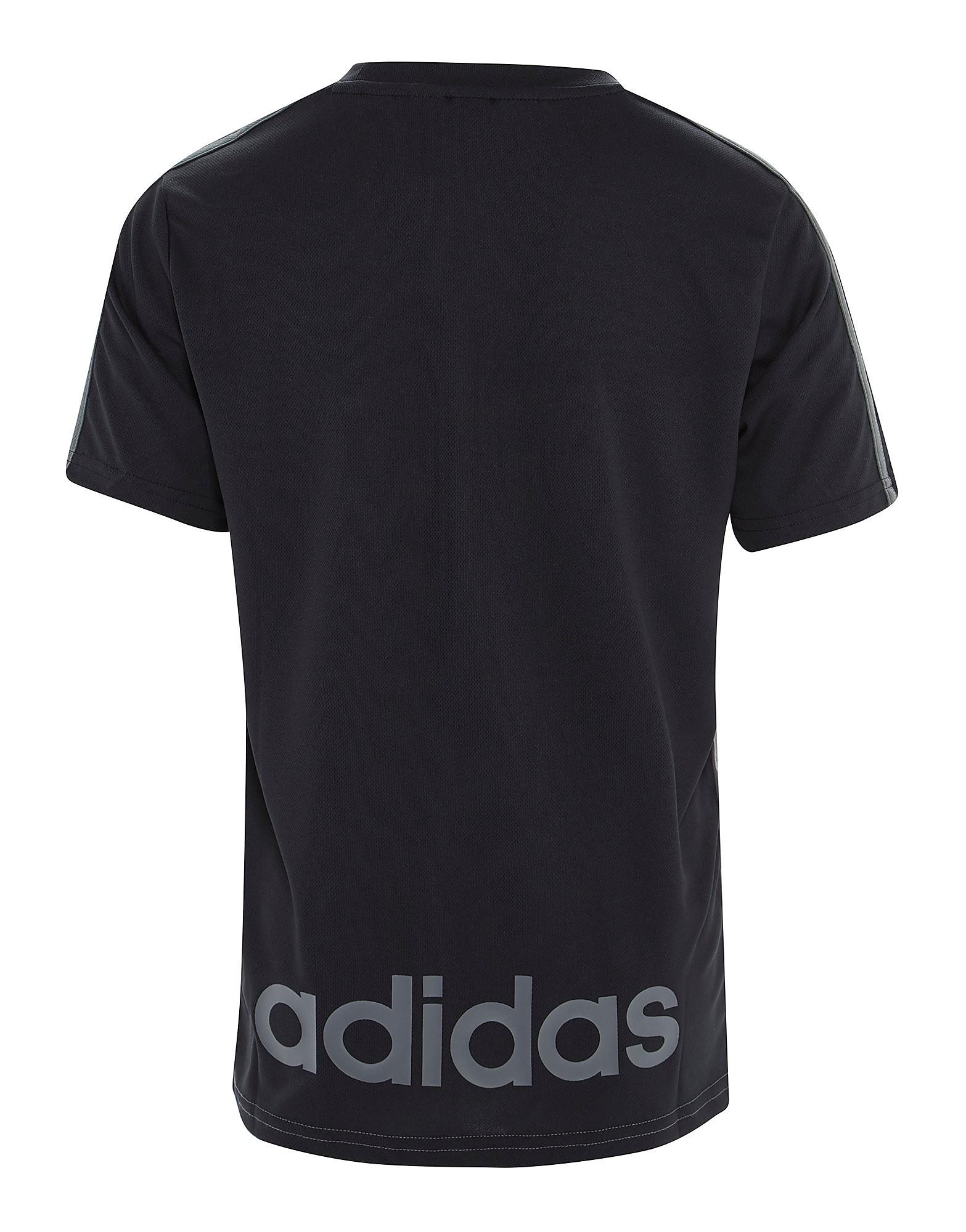 adidas Hybrid Colour Block T-Shirt Junior