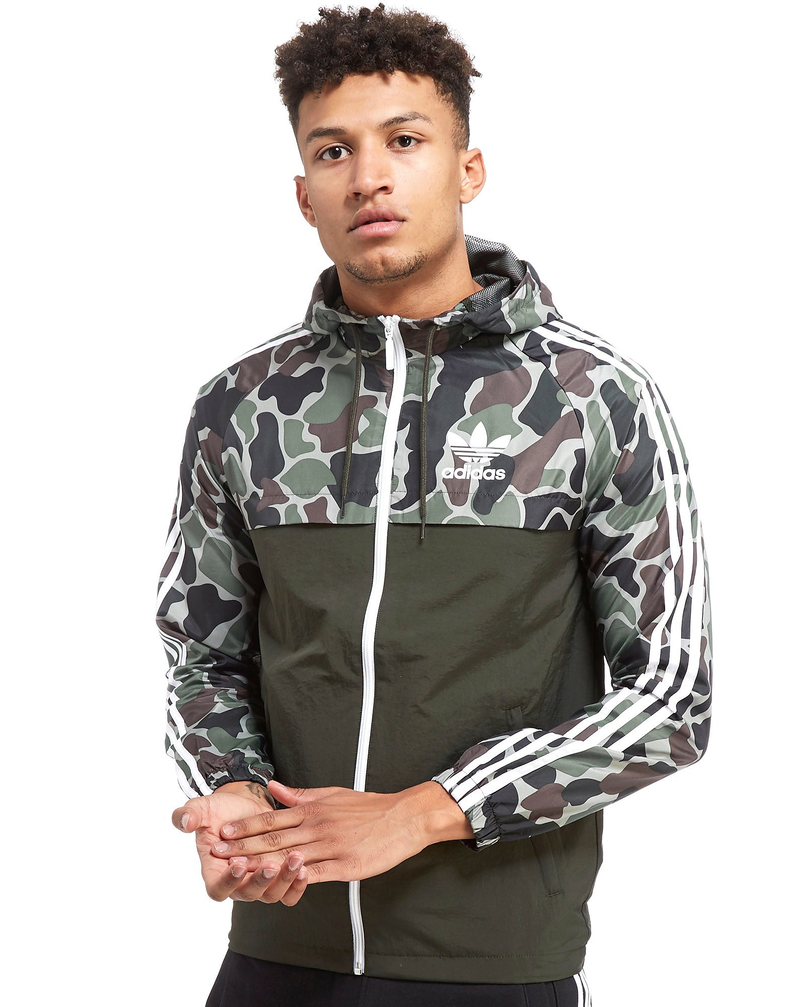 adidas Originals Reversible Windbreaker Jacket