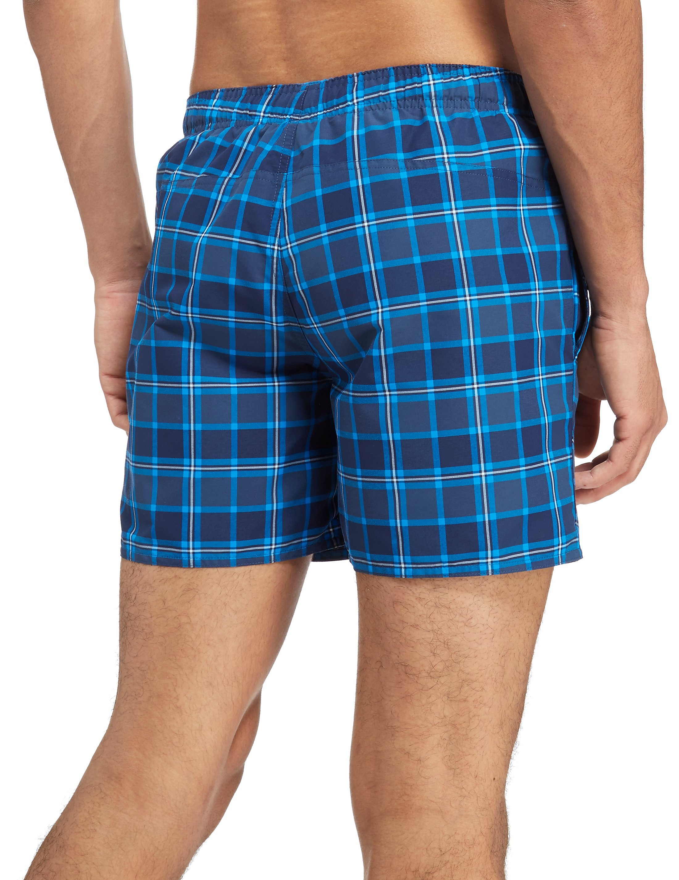 adidas Originals 3-Stripes Check Swimshorts