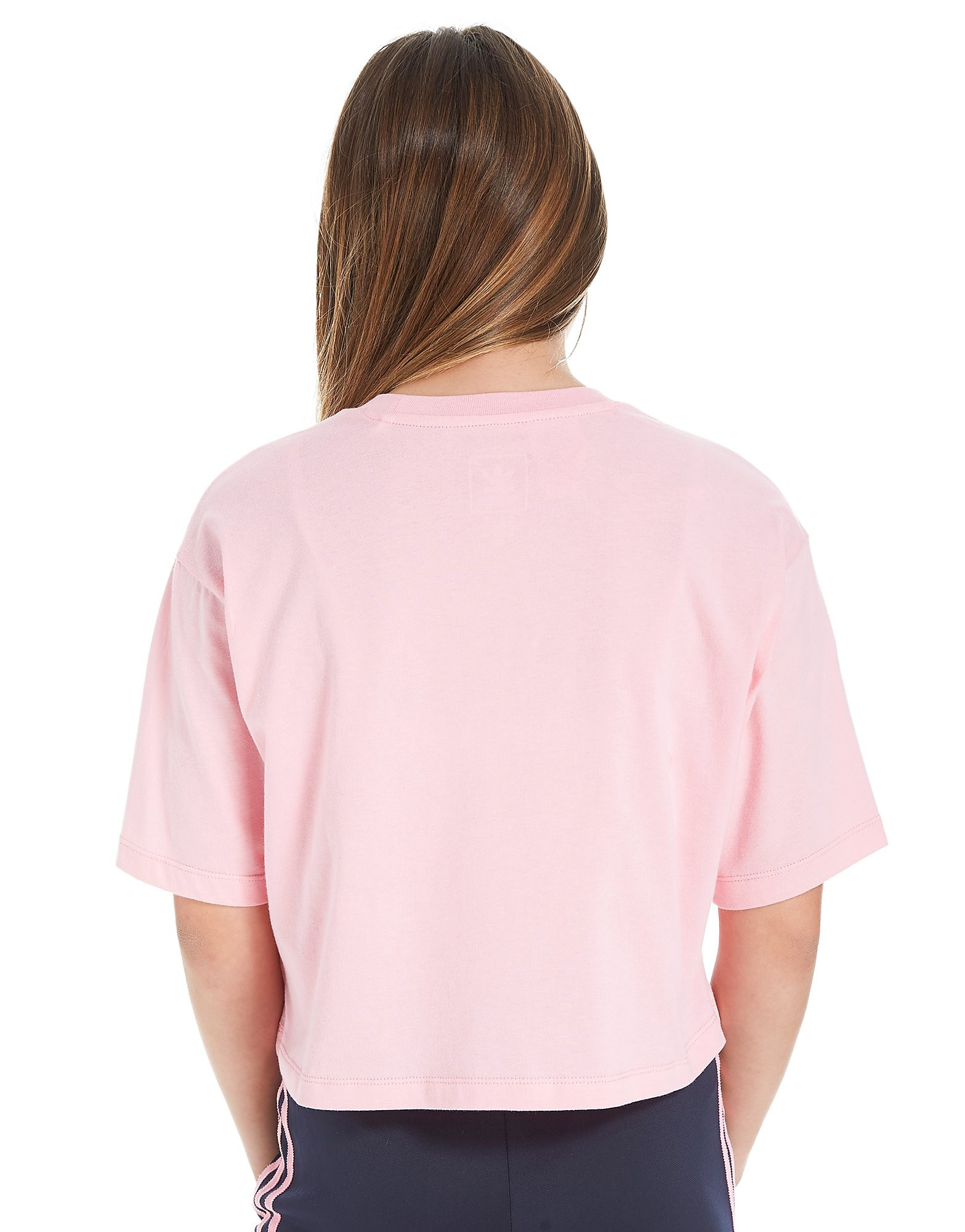 adidas Originals Girl's Trefoil Crop T-Shirt Kinderen