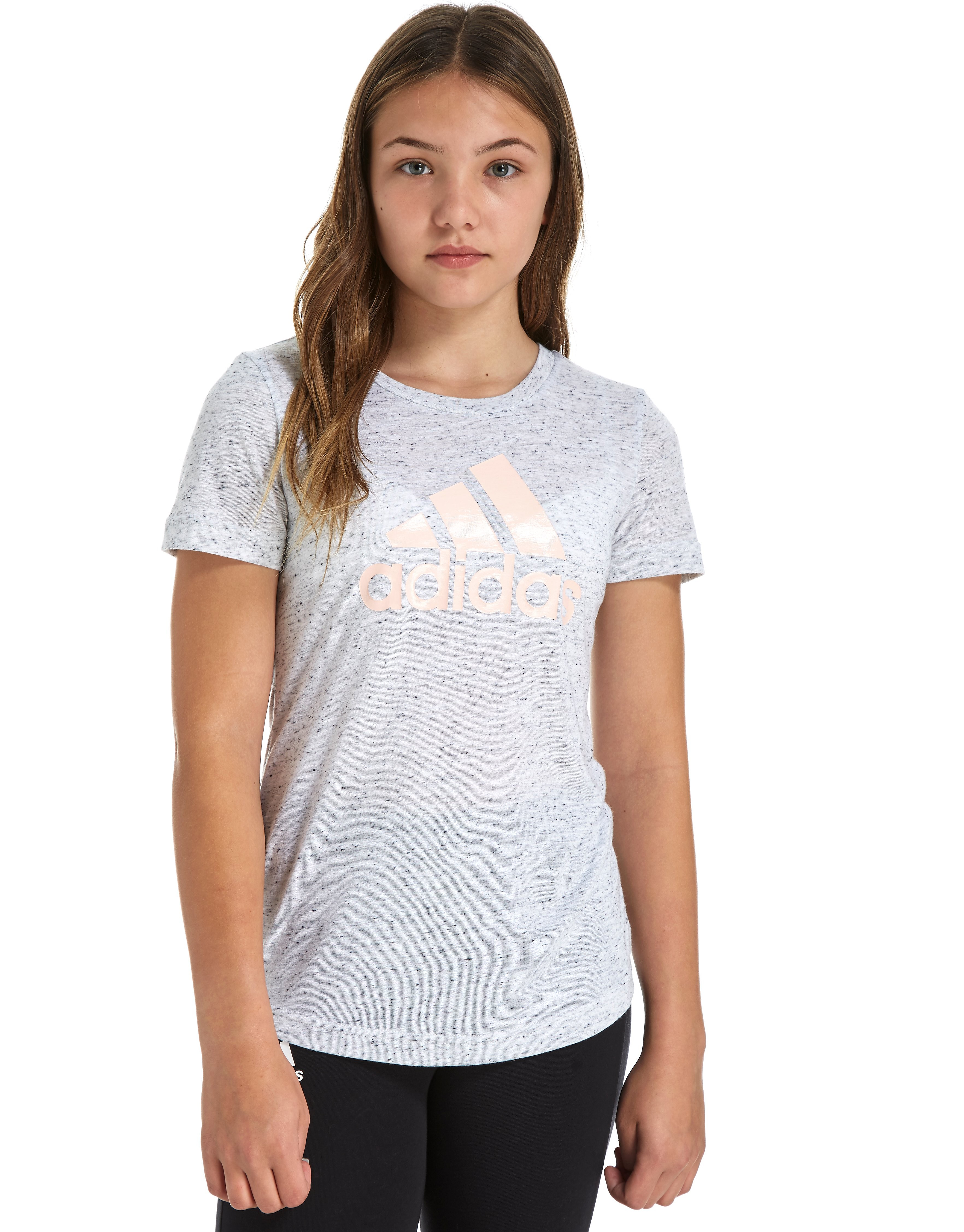 adidas Girls Logo T-Shirt Junior