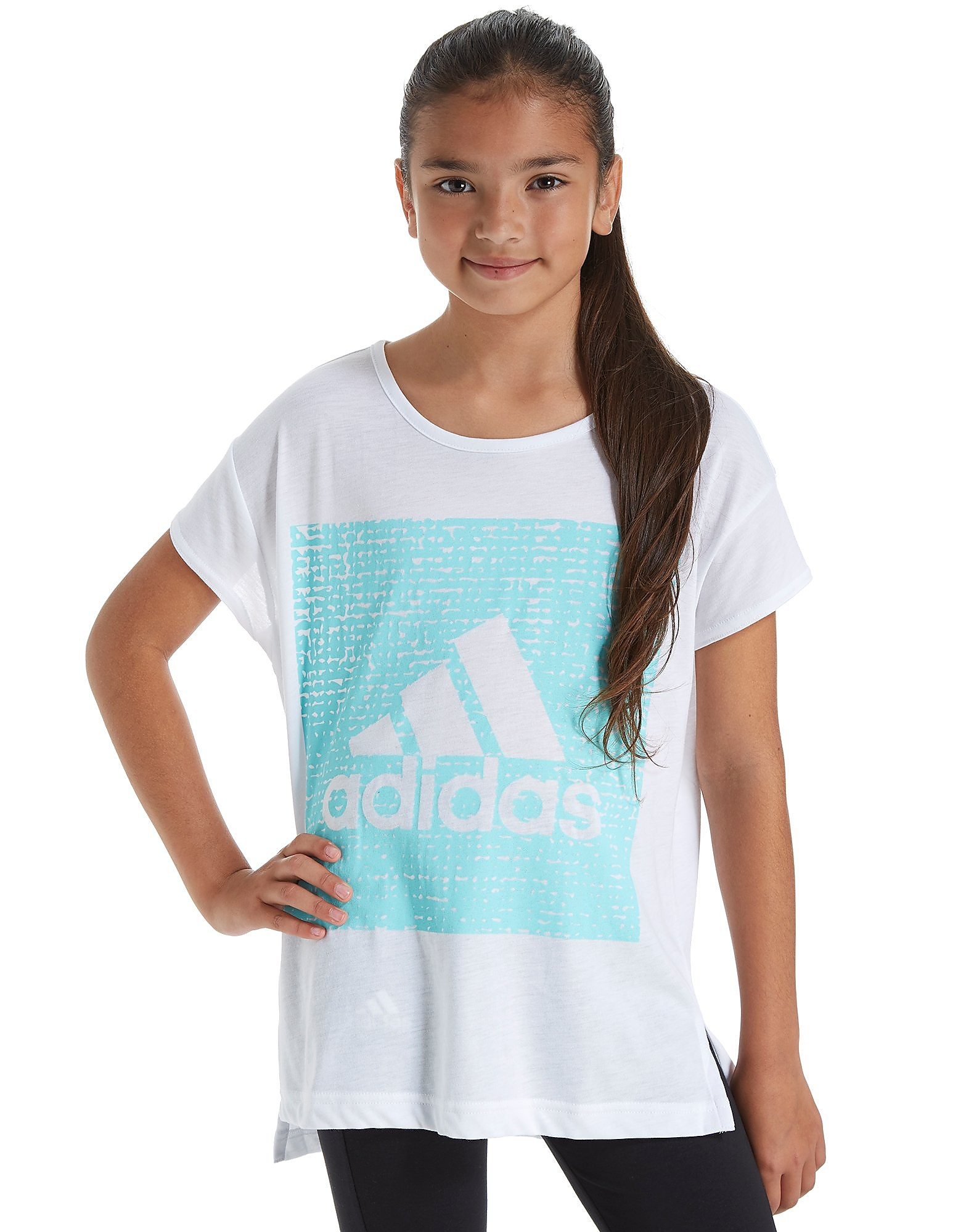 adidas Girls' Loose T-Shirt Junior
