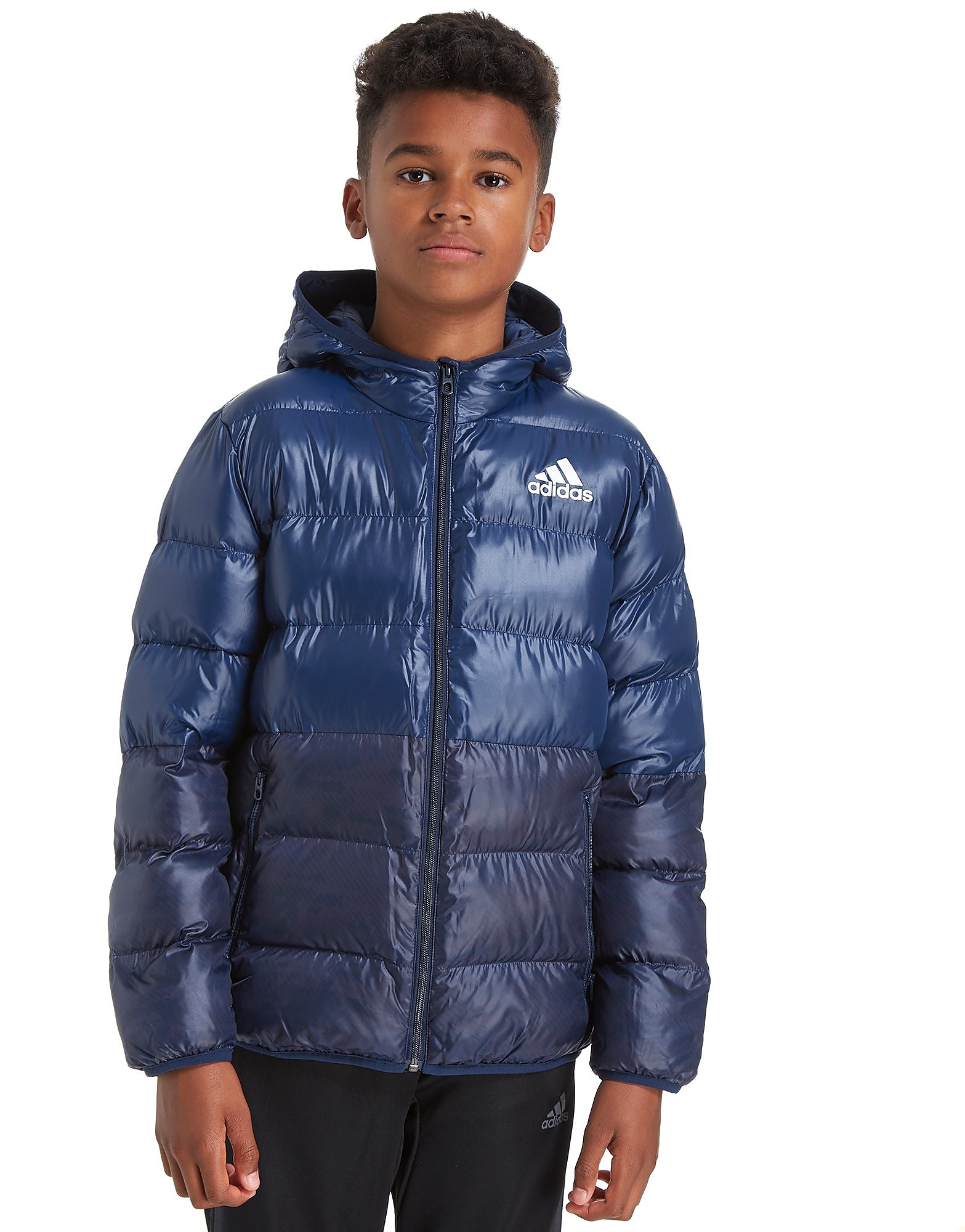 adidas Hooded Bomber Jacket Junior