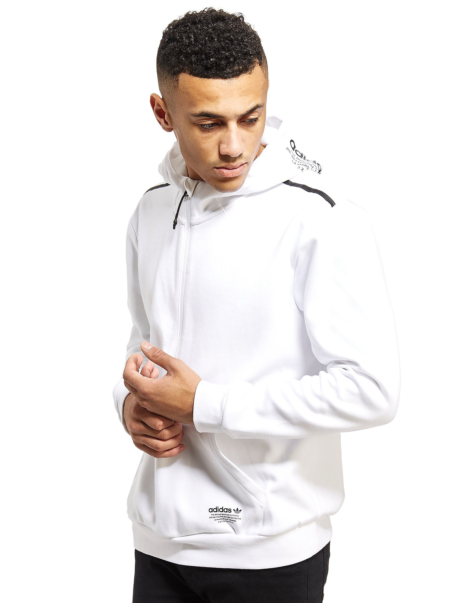 adidas Originals NMD 1/2 Zip Fleece Hoodie
