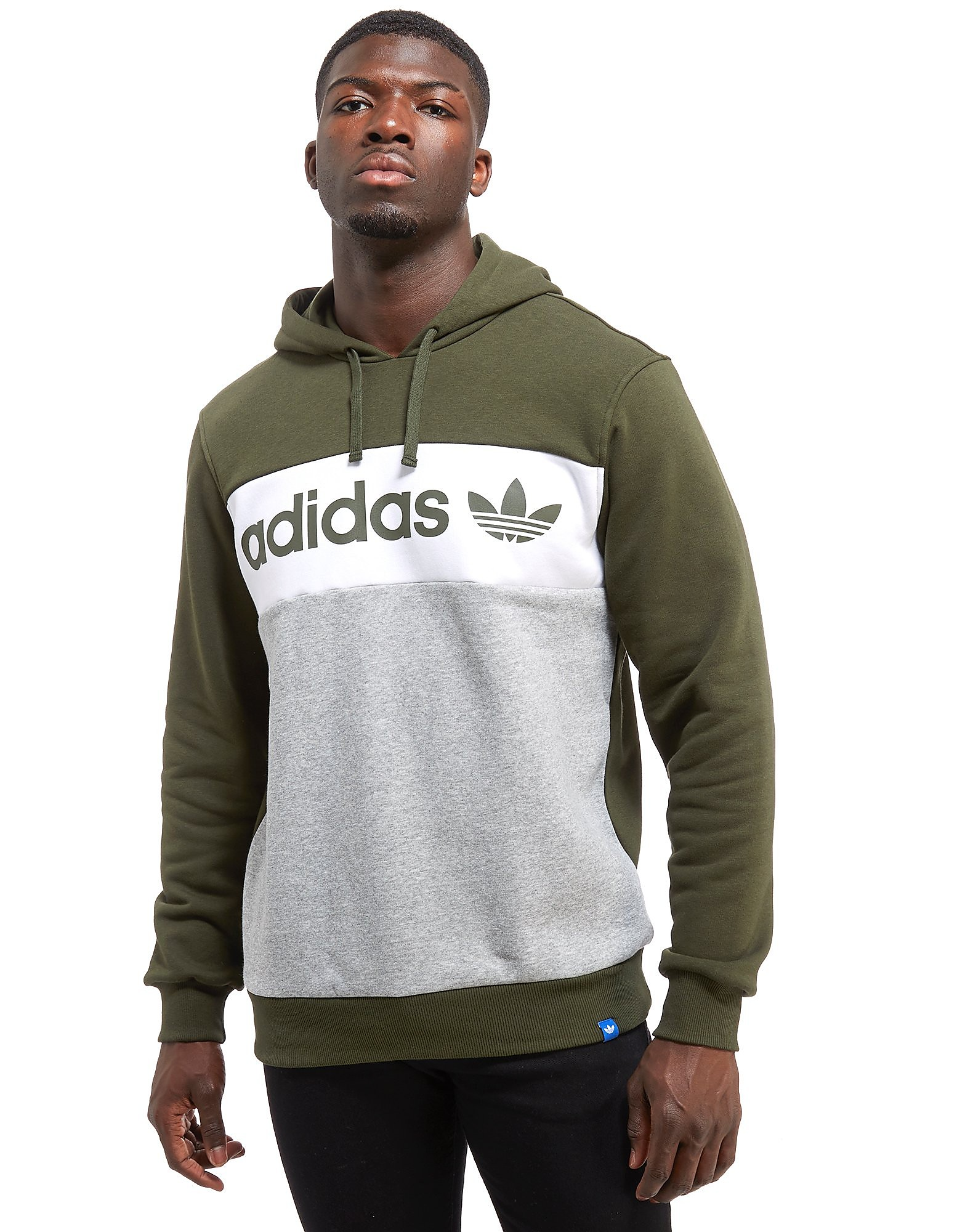 adidas Originals Linear Colour Block Hoodie