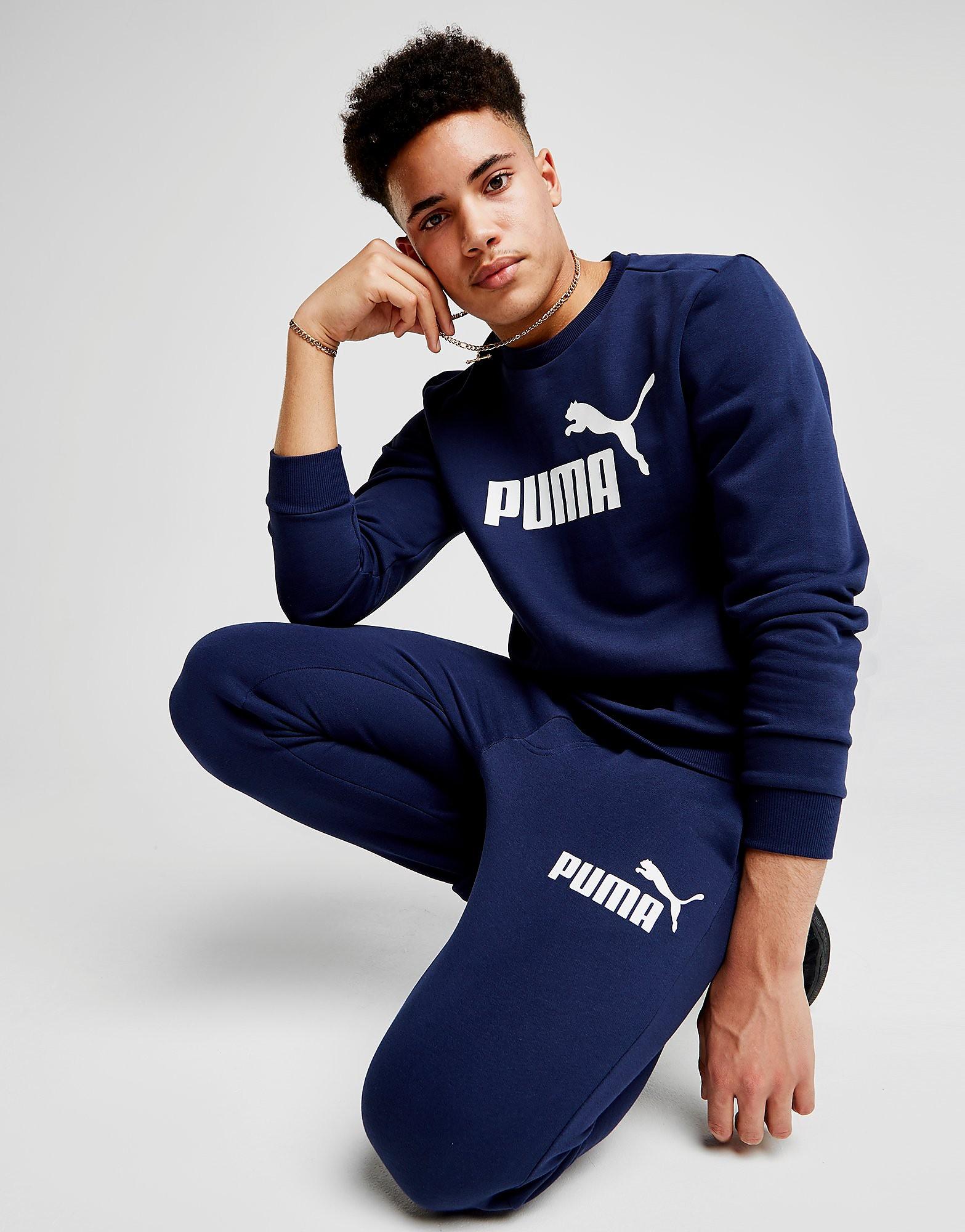 PUMA Core Logo Crew Sweatshirt