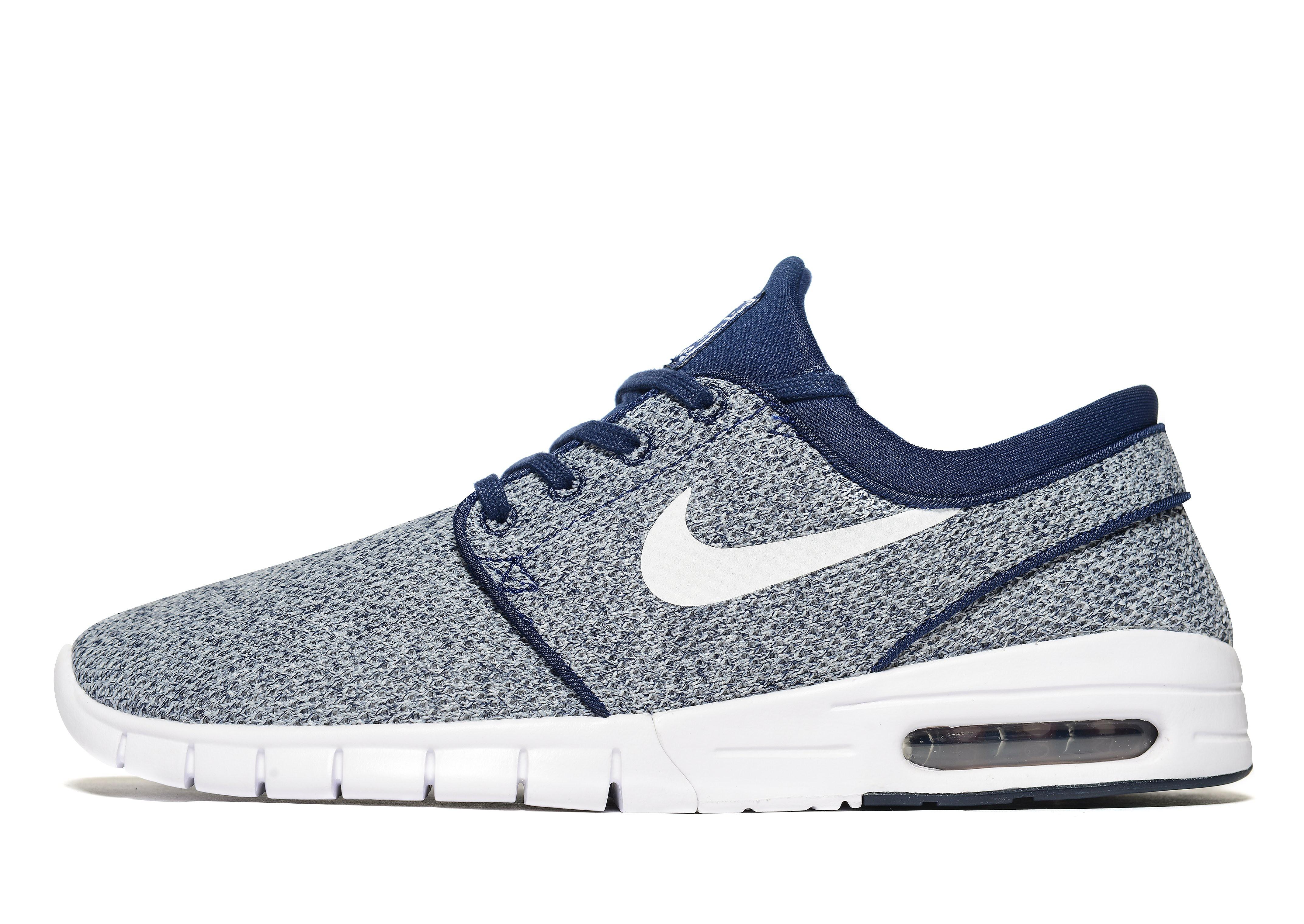 Nike SB Stefan Janoski Max - Blue/White, Blue/White