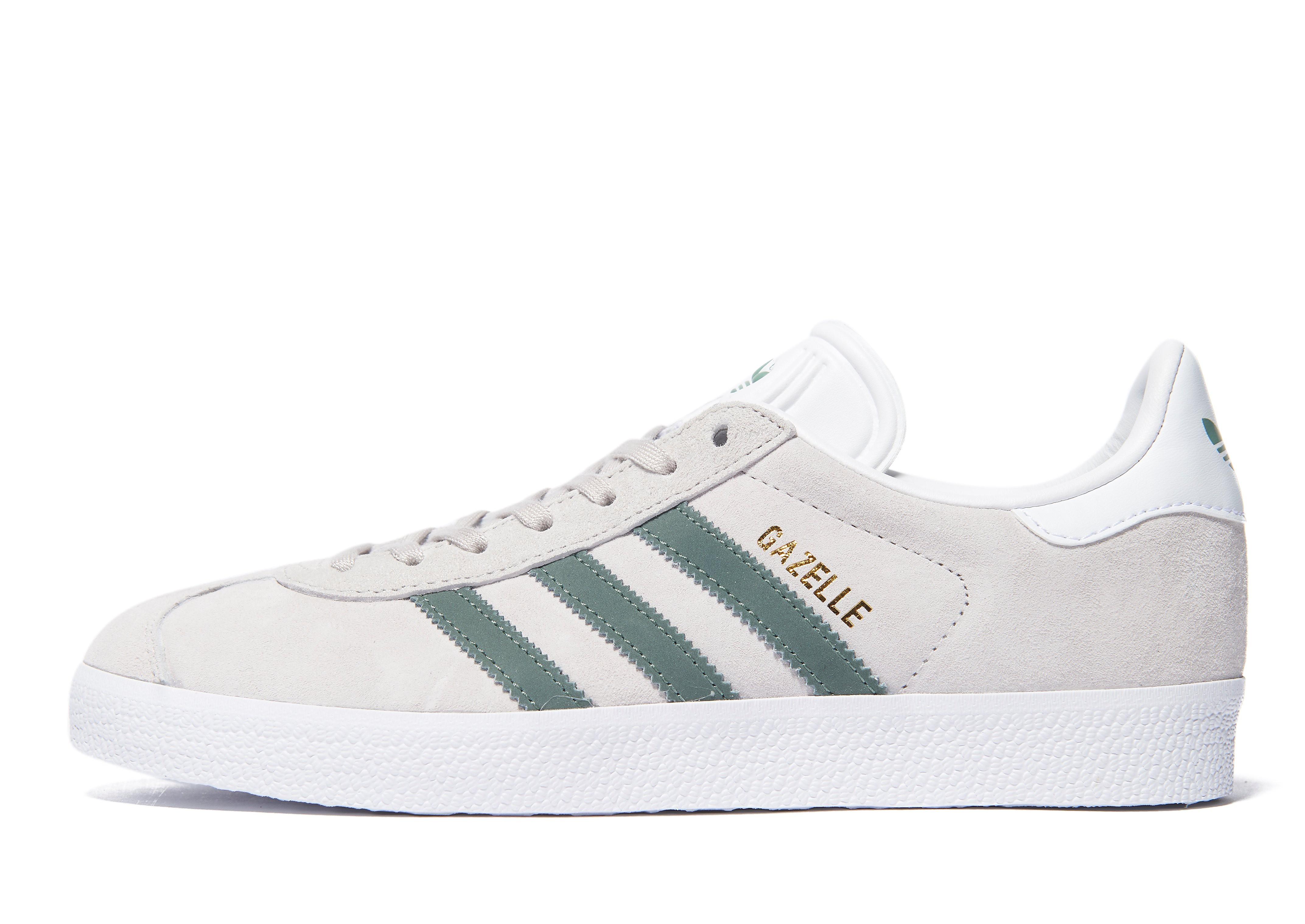 adidas Originals Gazelle Damen grau-grün