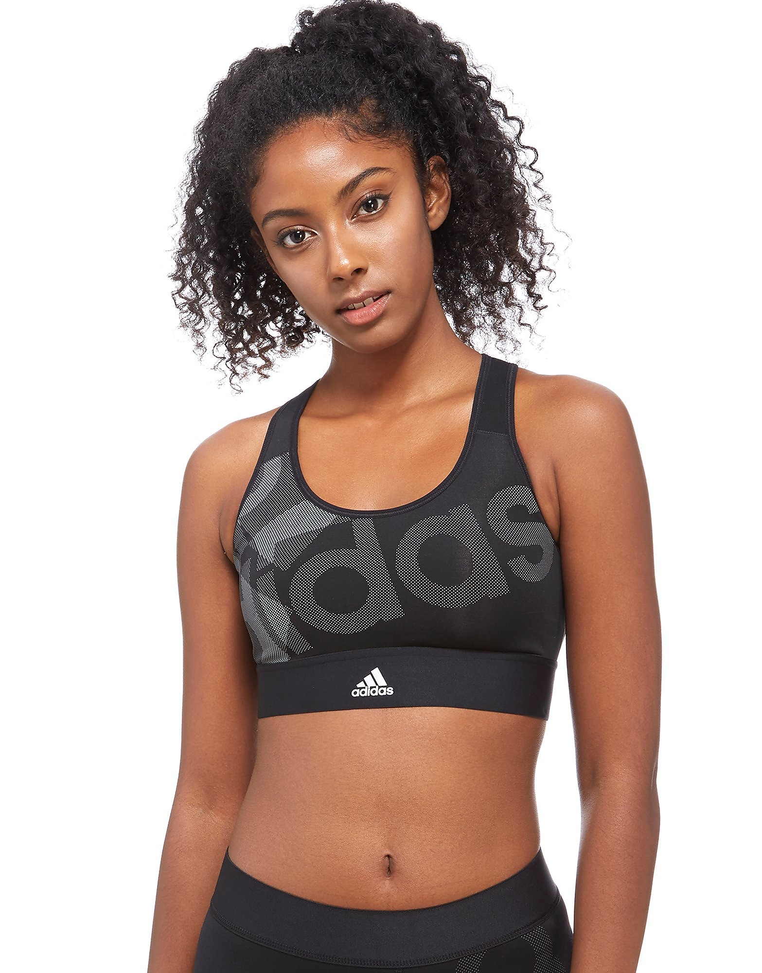 adidas Techfit Badge Logo Sport Bra