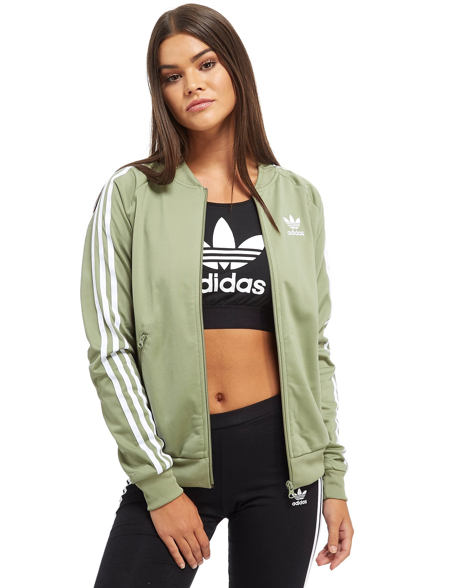 adidas Originals Haut de survêtement Superstar Track Femme