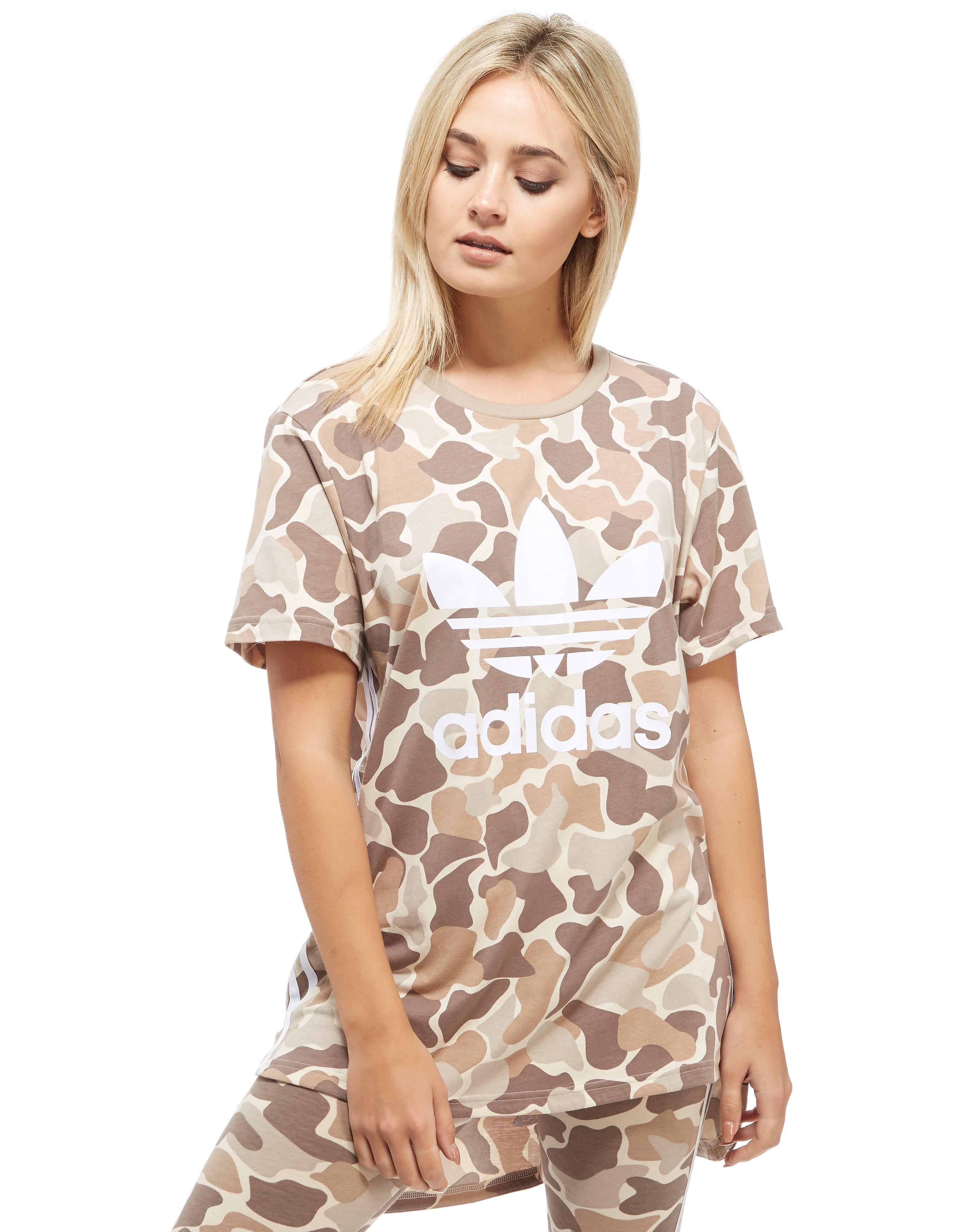 adidas Originals 3-Stripes Camo T-Shirt