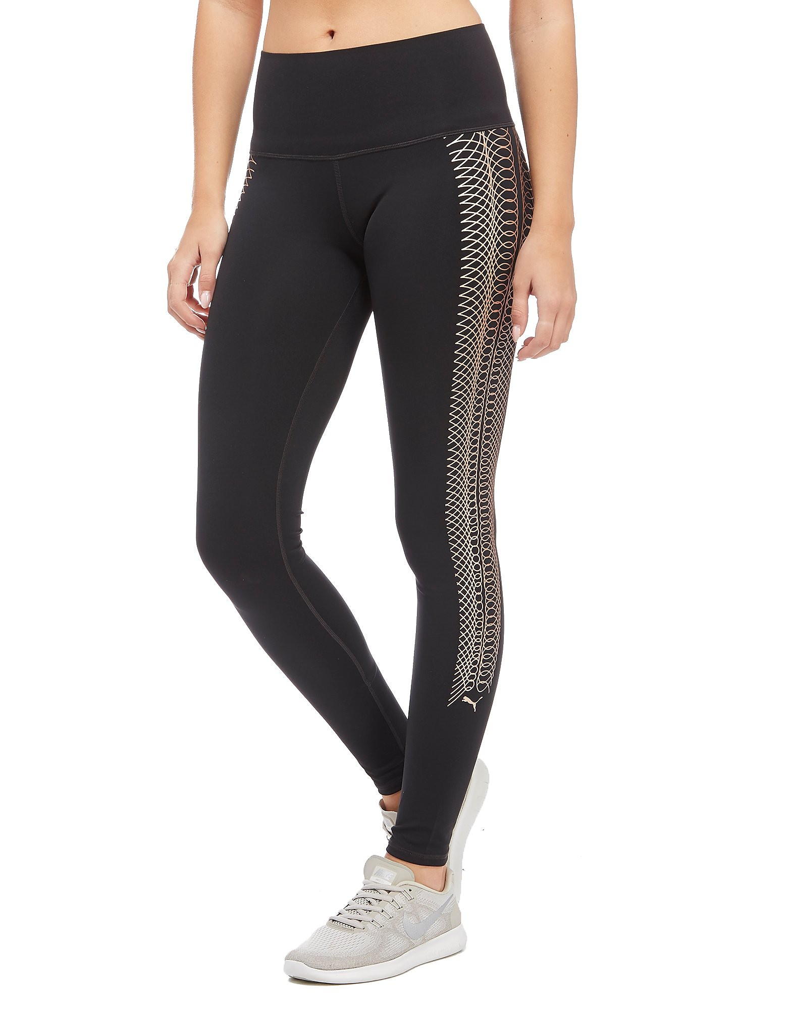 PUMA Rope Collection Metallic Tights