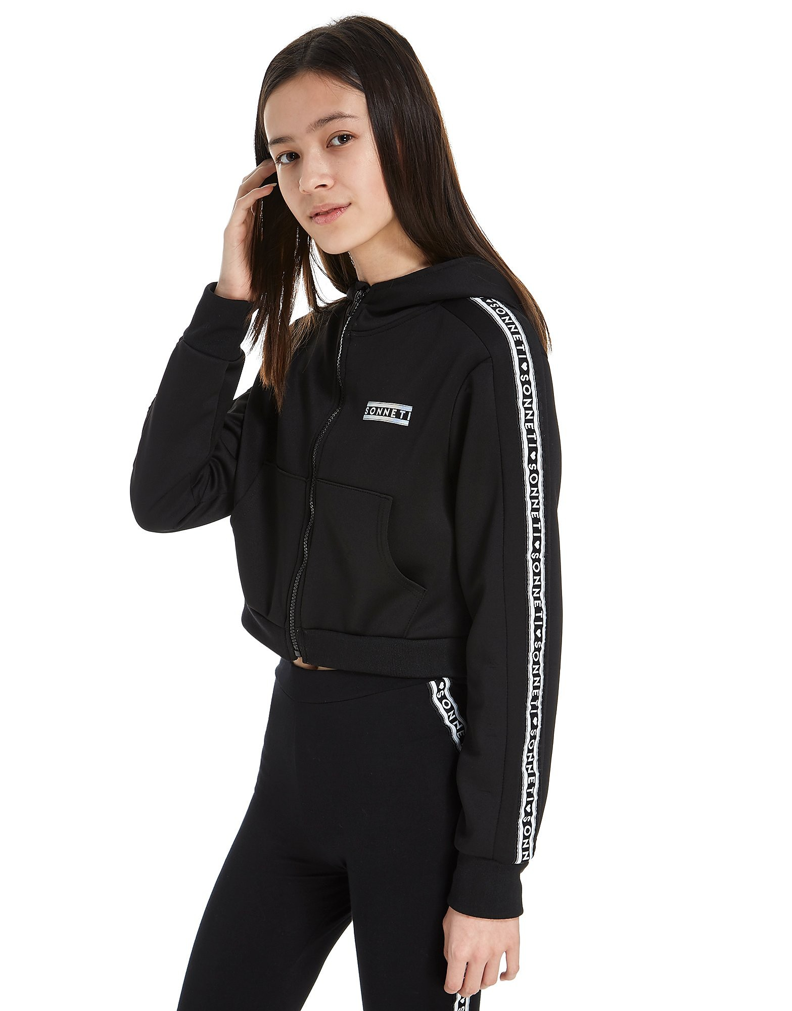 Sonneti Girls' Taper 2 Zip Hoody Junior