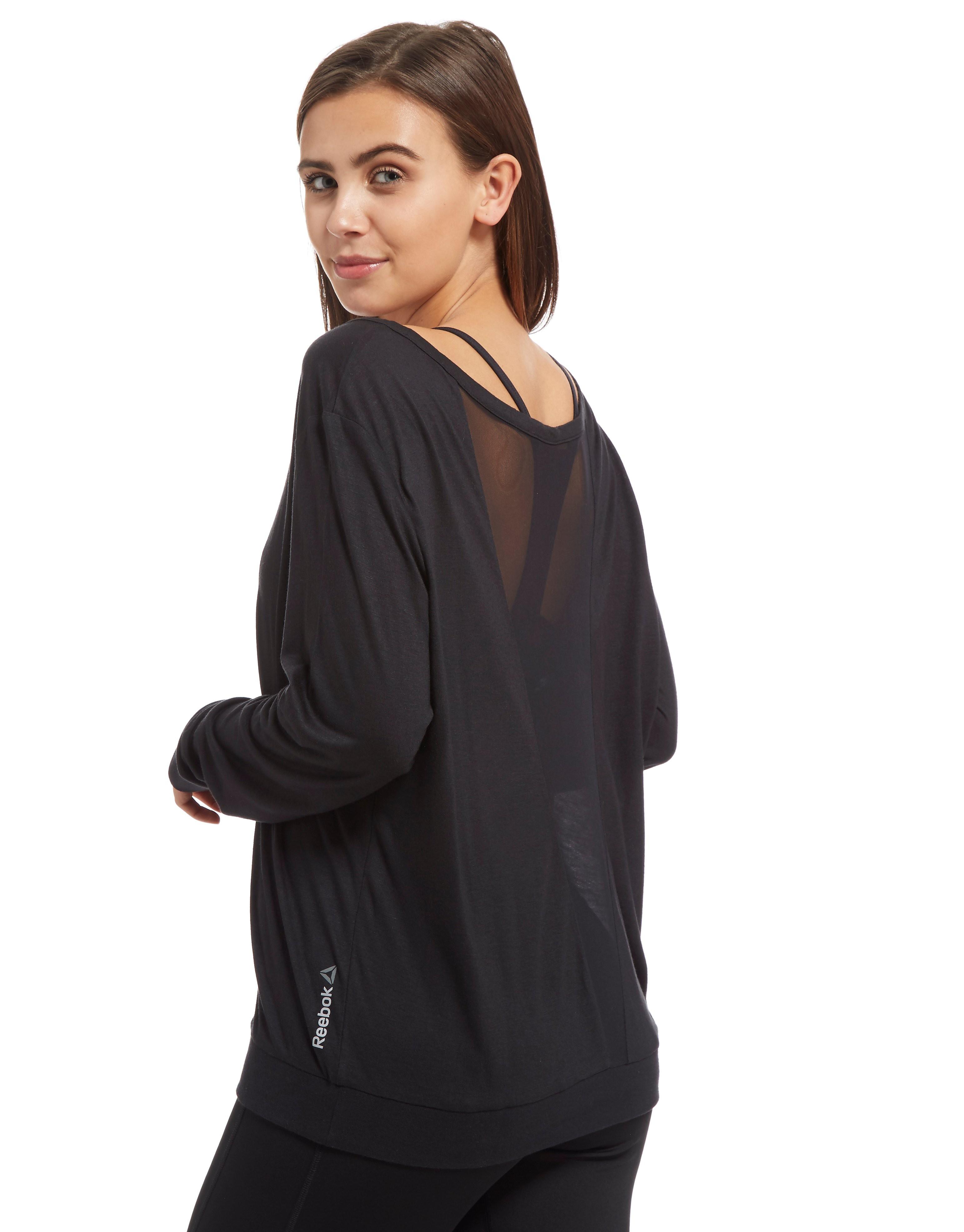 Reebok Mesh Long Sleeve T-Shirt