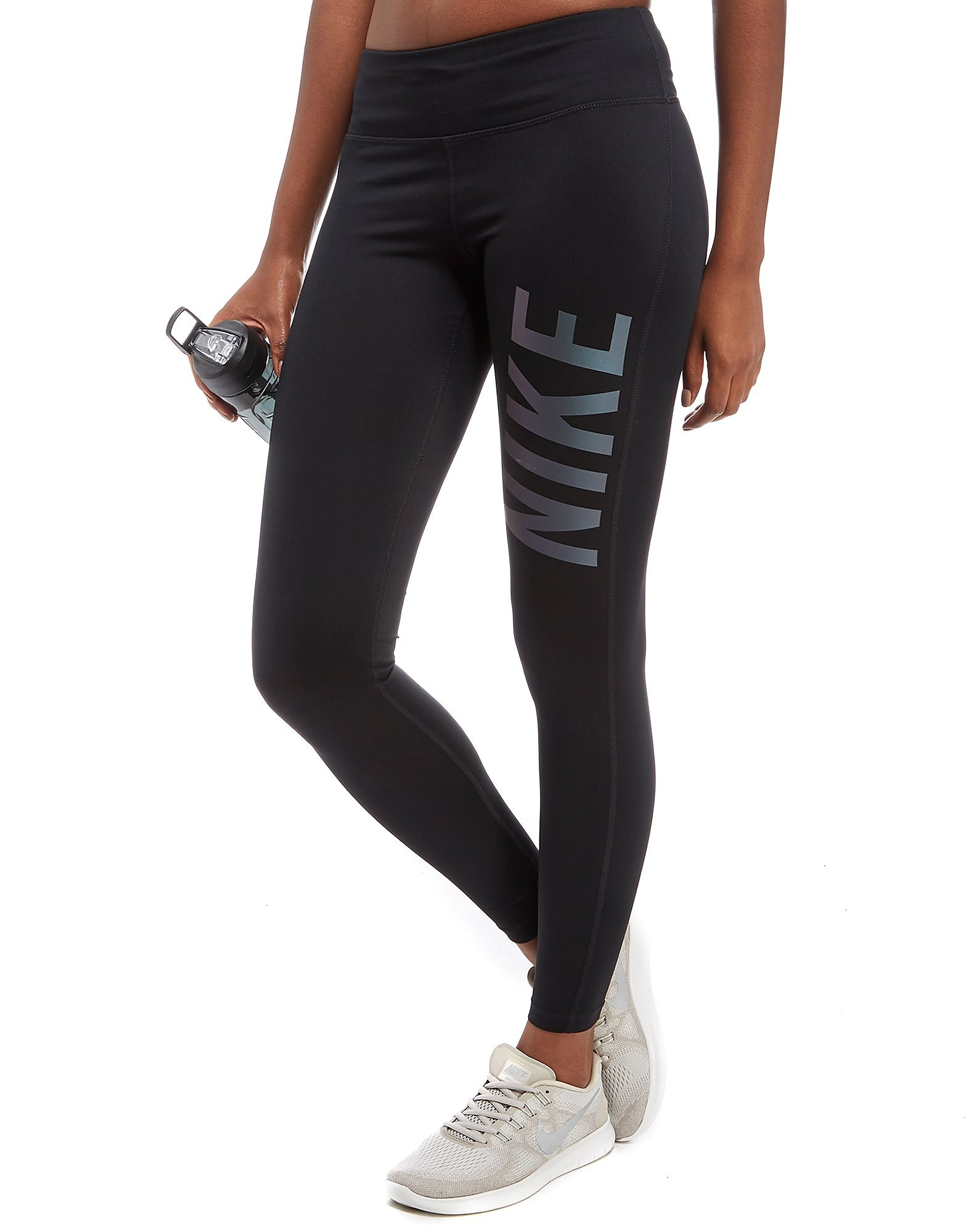 Nike Power Metallic Running Tights