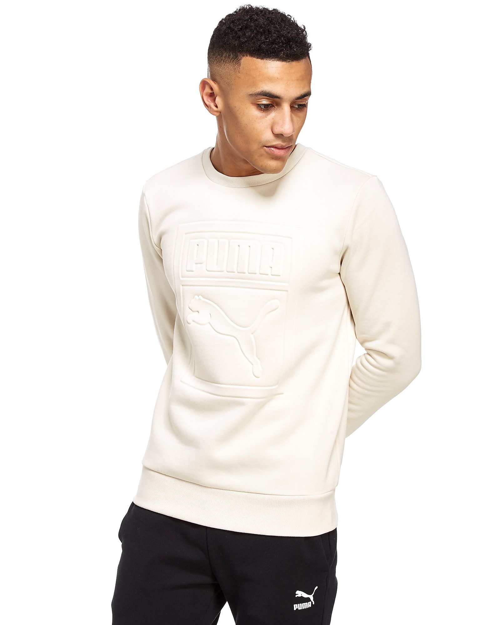 PUMA Archive Embossed Logo Sweatshirt