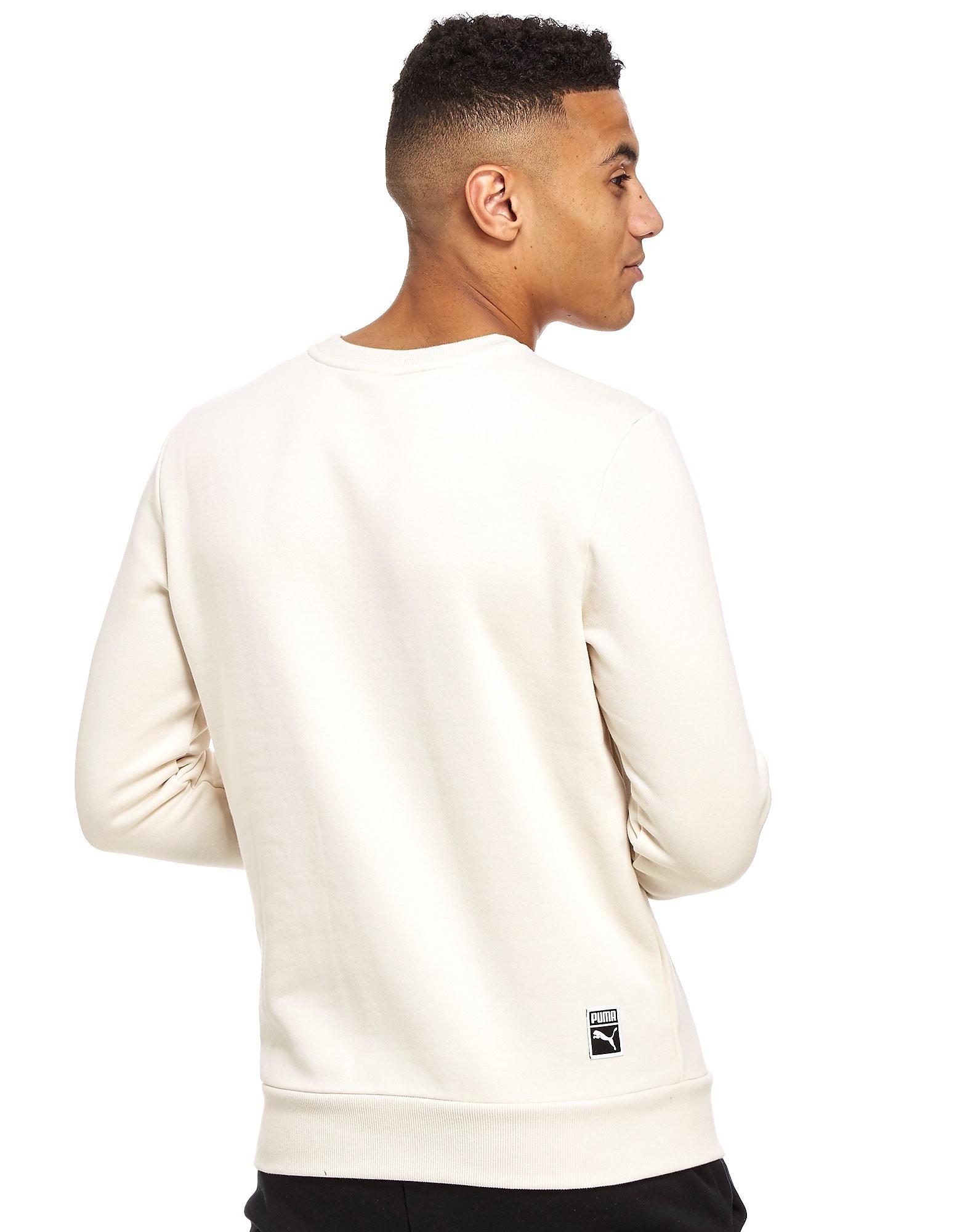 PUMA Archive Embossed Logo Sweatshirt